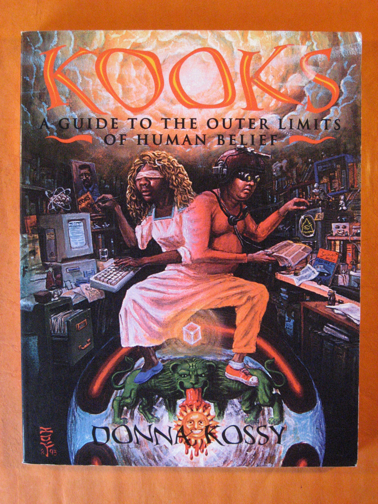 Kooks, A Guide to the Outer Limits of Human Belief, Kossy, Donna