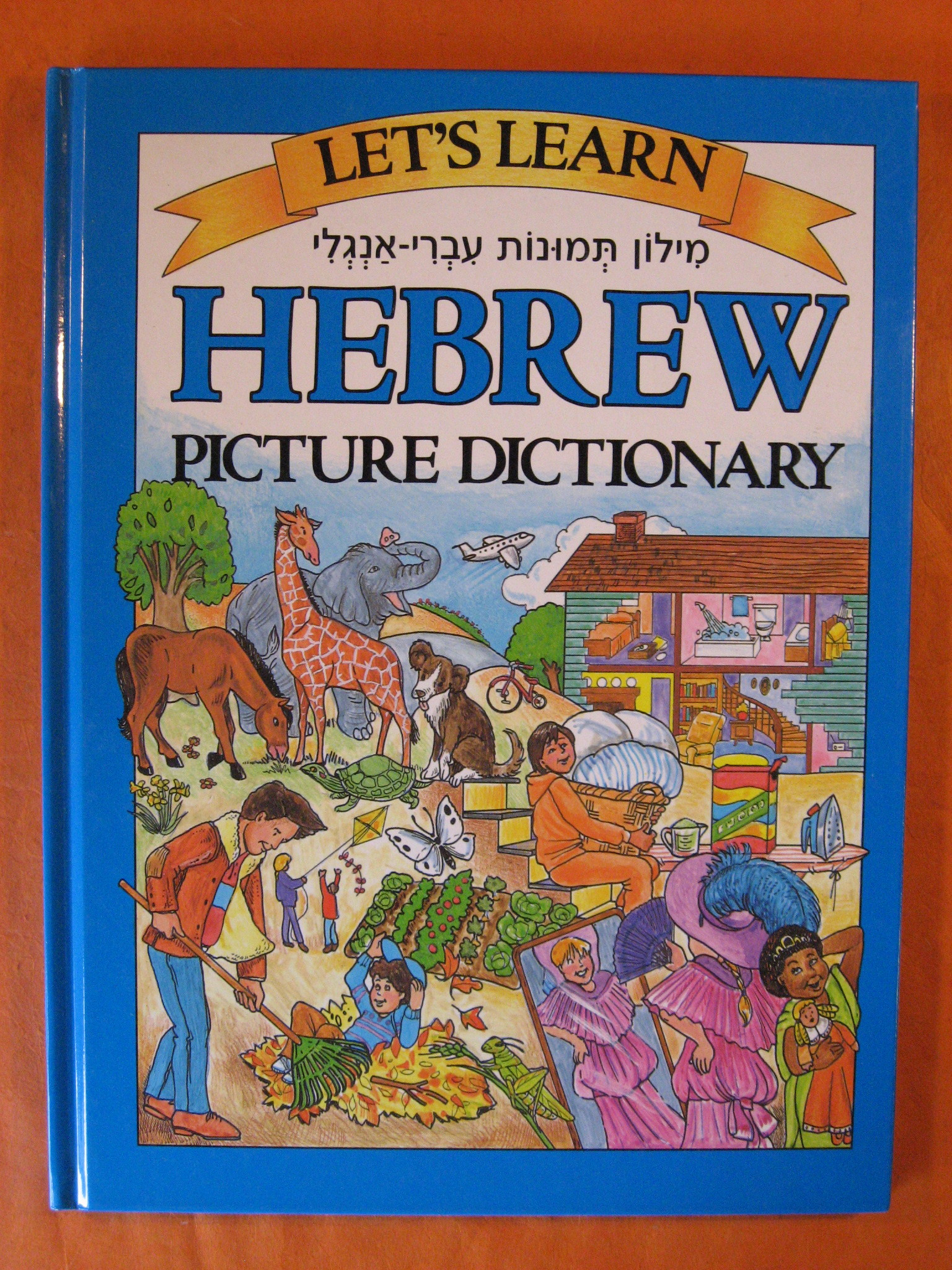 Let's Learn Hebrew: Children's Picture Dictionary, Editors of Passport Books