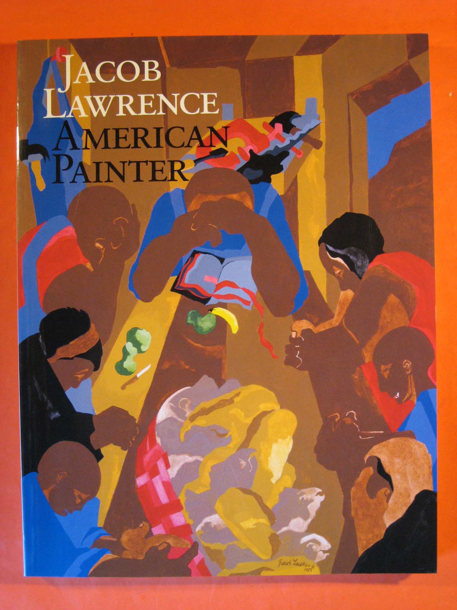 Jacob Lawrence: American Painter, Wheat, Ellen Harkins