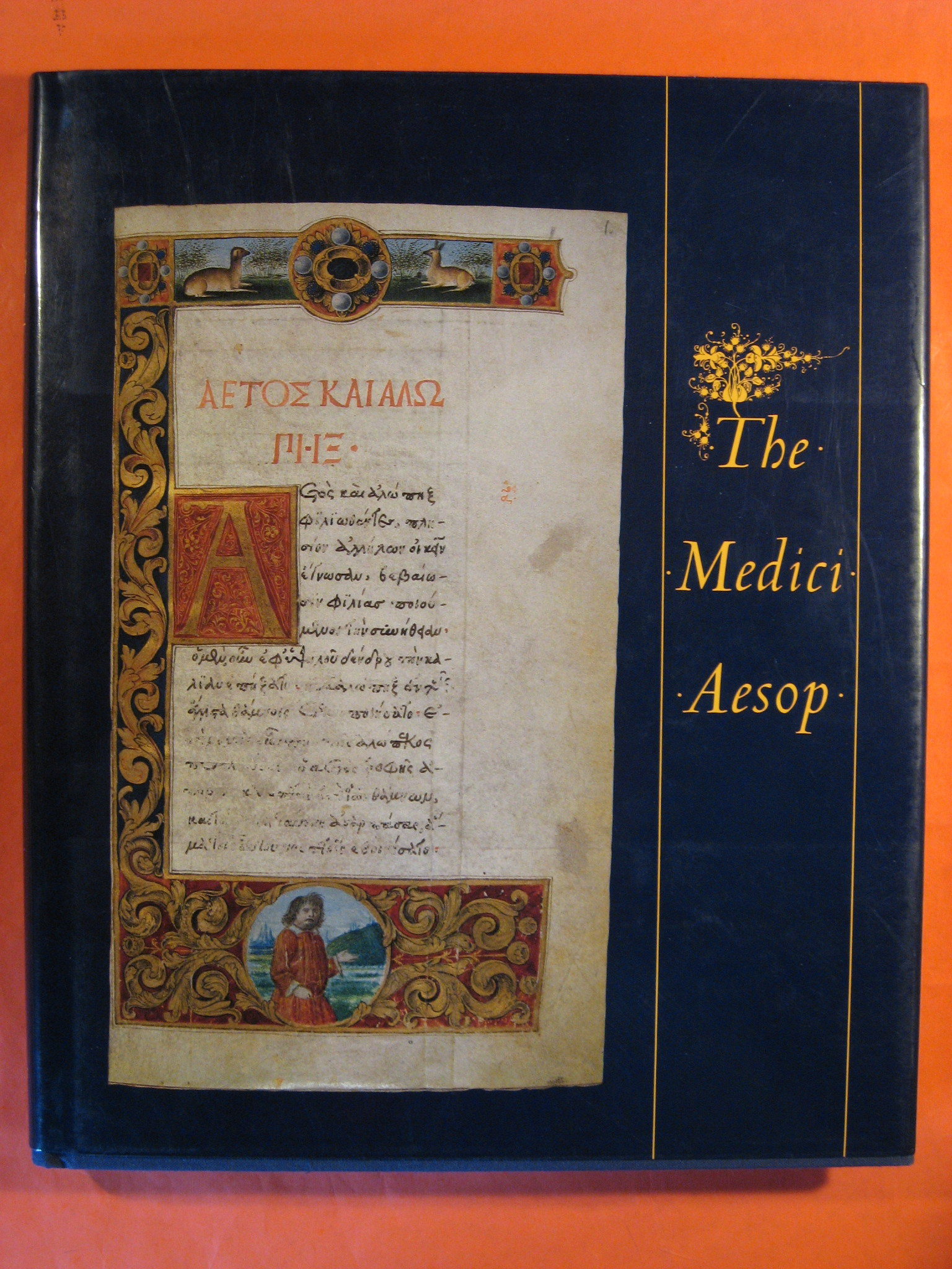 The Medici Aesop: From the Spencer Collection of the New York Public Library, Aesop; McTigue, Bernard; Everett Fahy