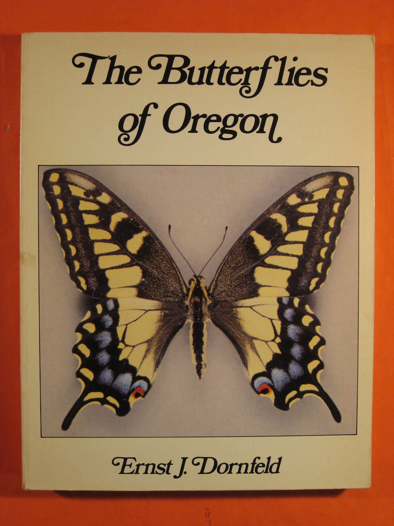 Butterflies of Oregon, Dornfeld, Ernst John