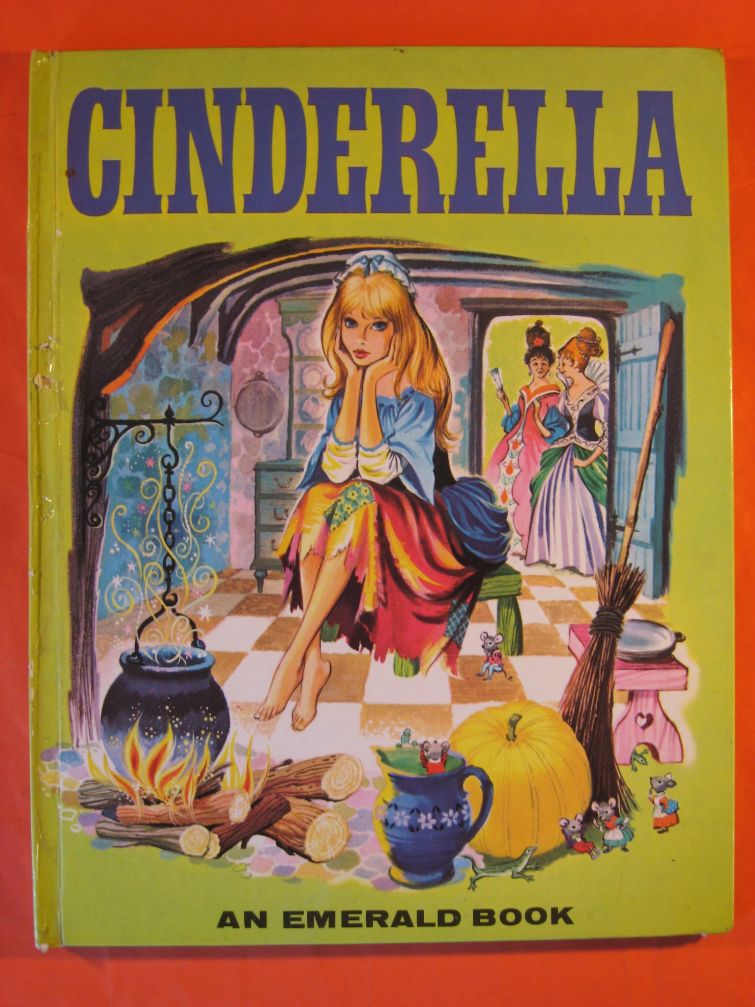 Two 1965 Fairy Tale Books:  Snow White and the Seven Dwarfs and Cinderella
