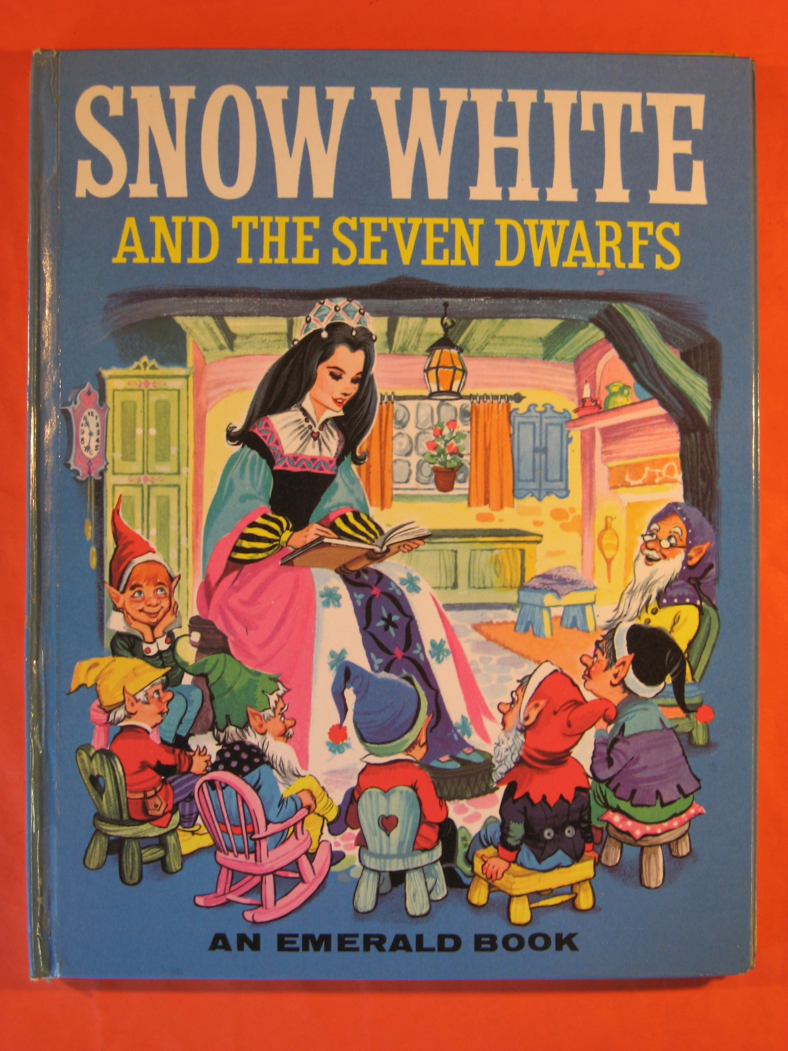 Two 1965 Fairy Tale Books: Snow White And The Seven Dwarfs
