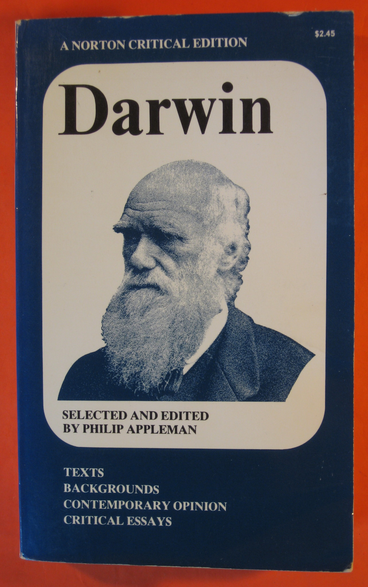 Darwin [Norton Critical edition], Appleman, Philip (ed.)