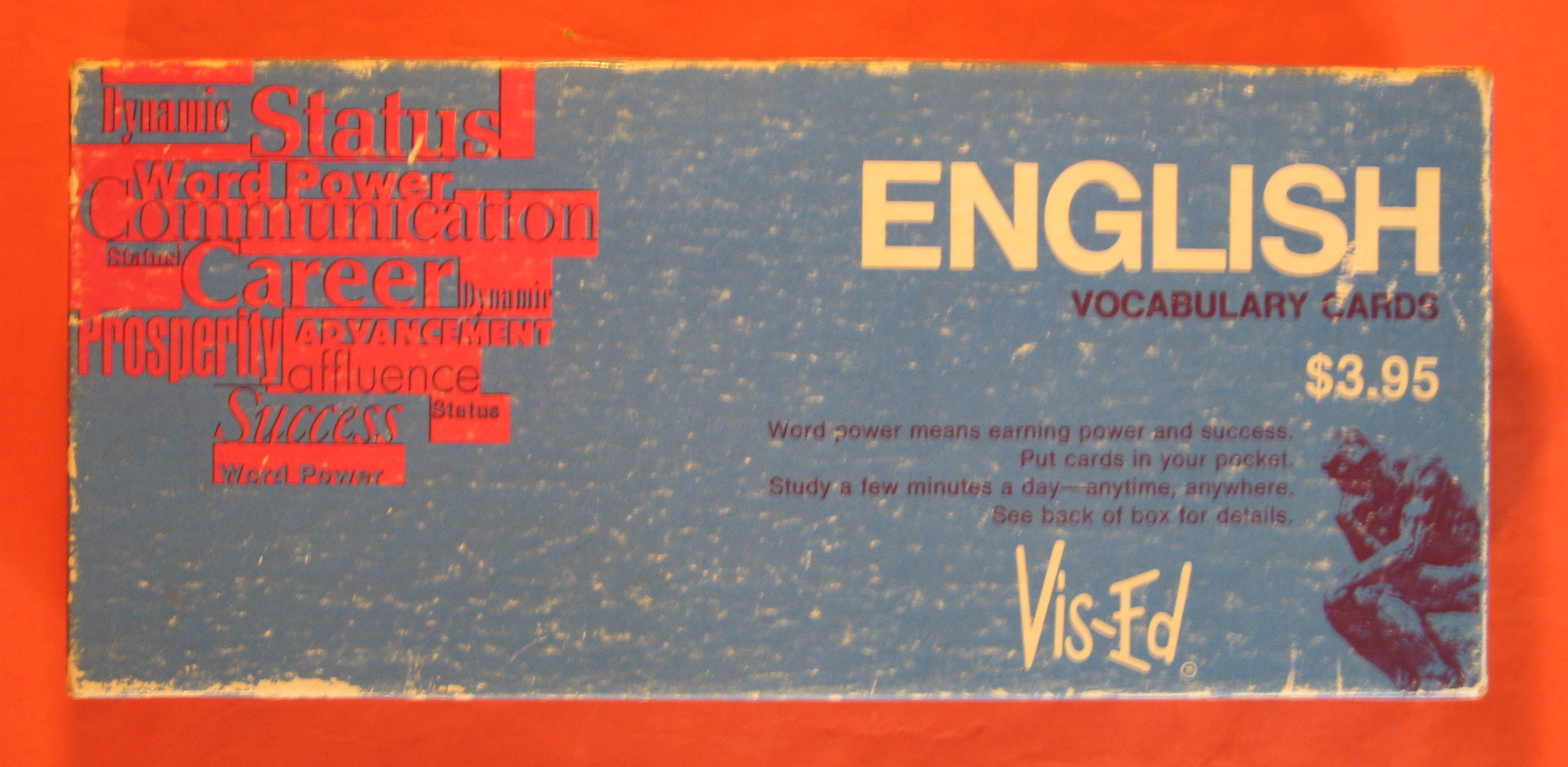 English Vocabulary Cards, Visual Education