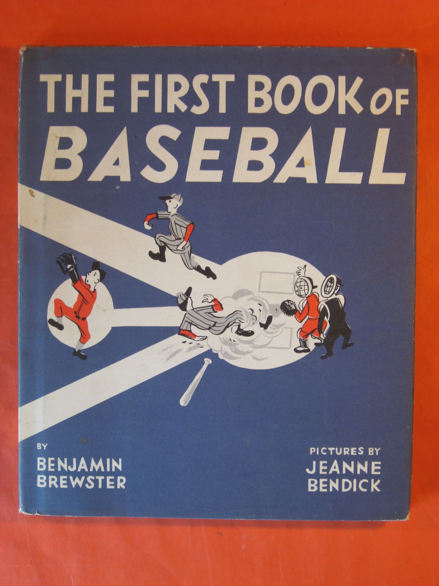 The First Book of Baseball, Brewster, Benjamin
