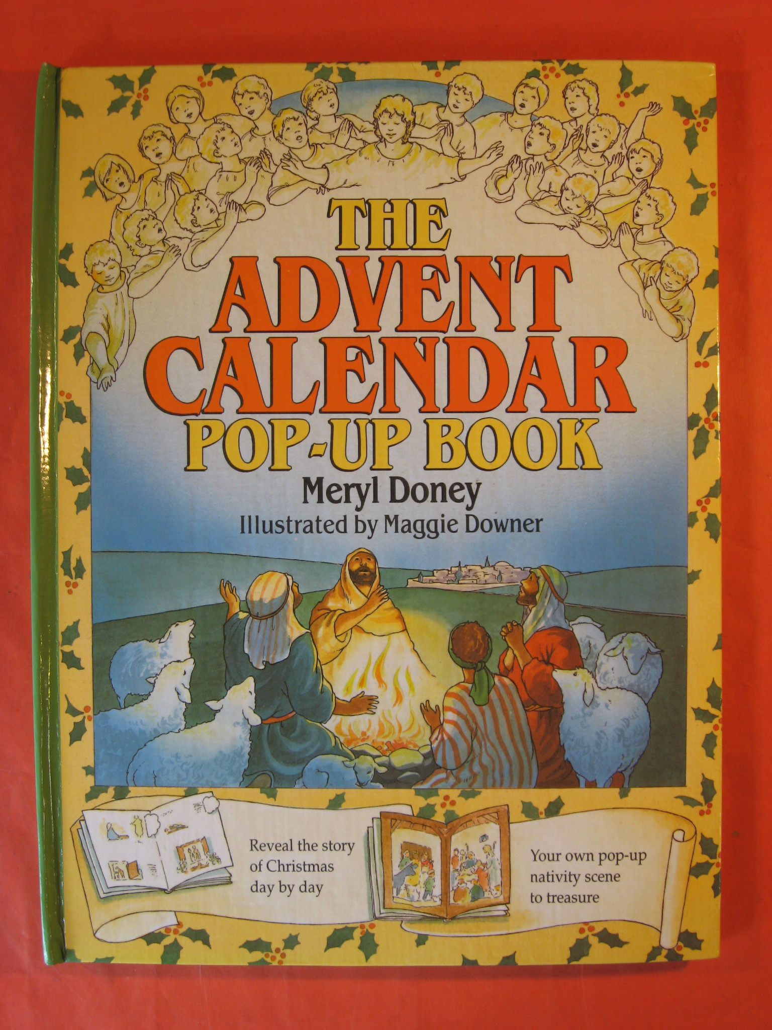 The Advent Calendar Pop-Up Book, Doney, Meryl