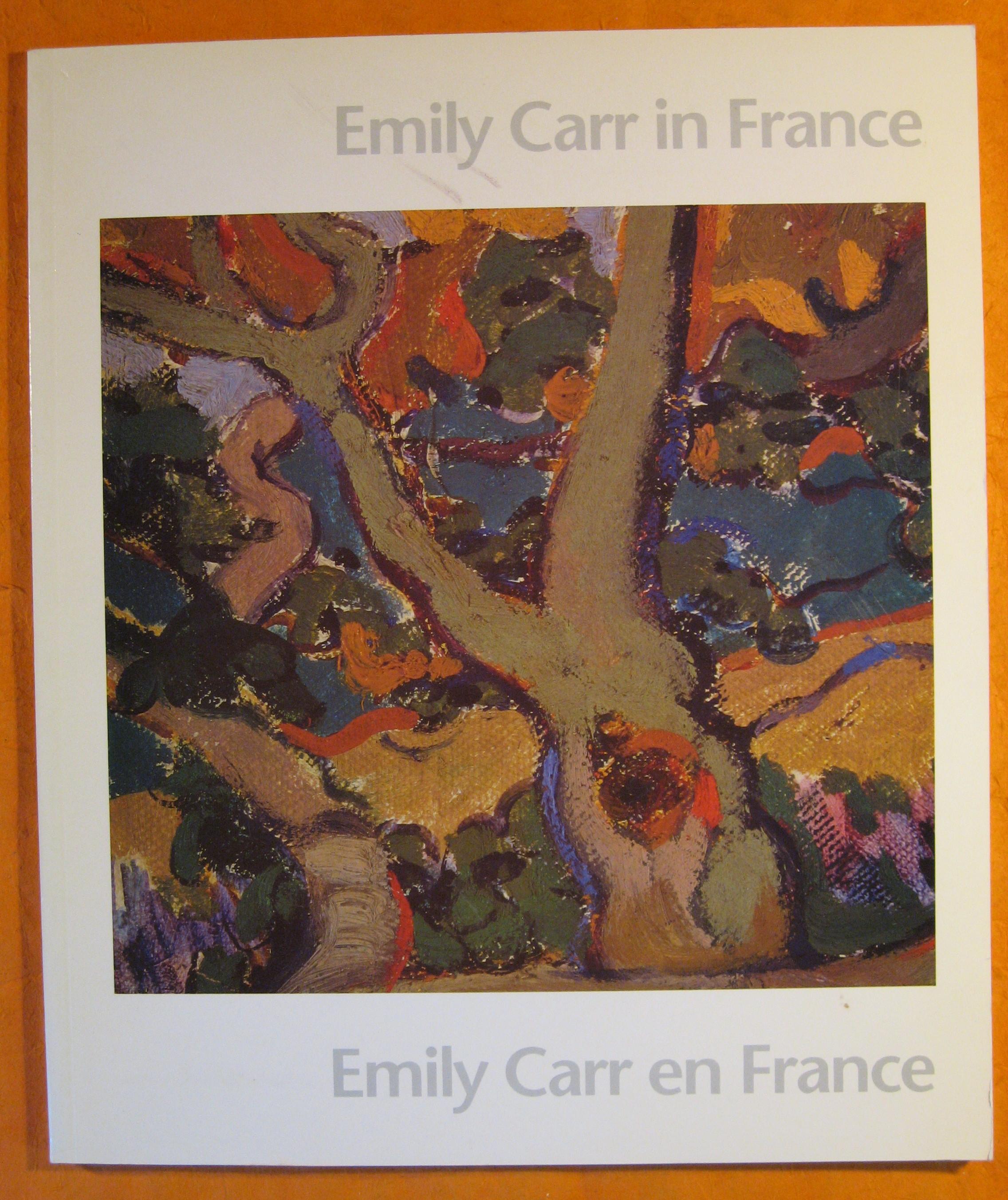 Image for Emily Carr in France: Emily Carr En France
