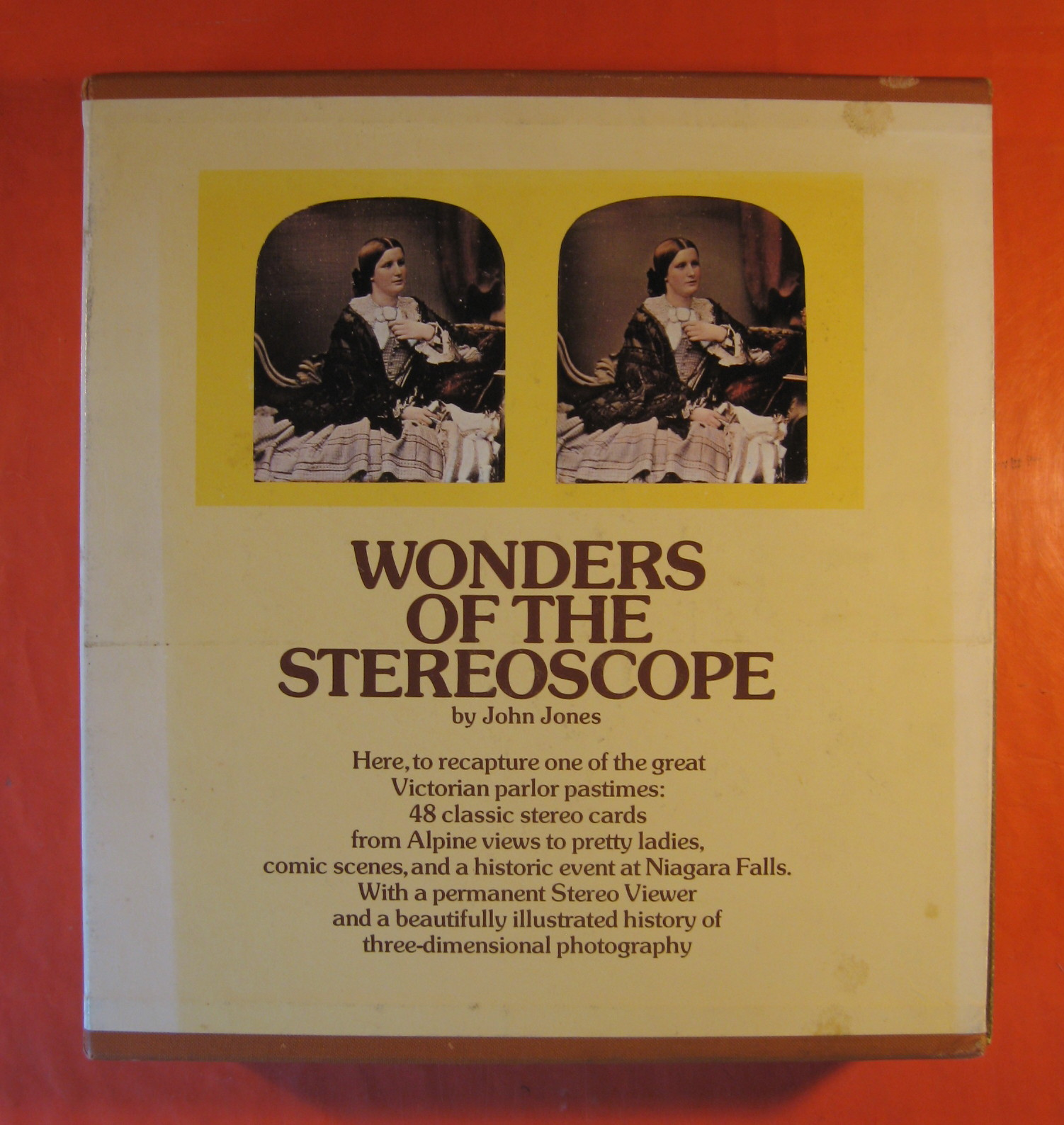 Wonders of the Stereoscope (Two Volume Set), Jones, John