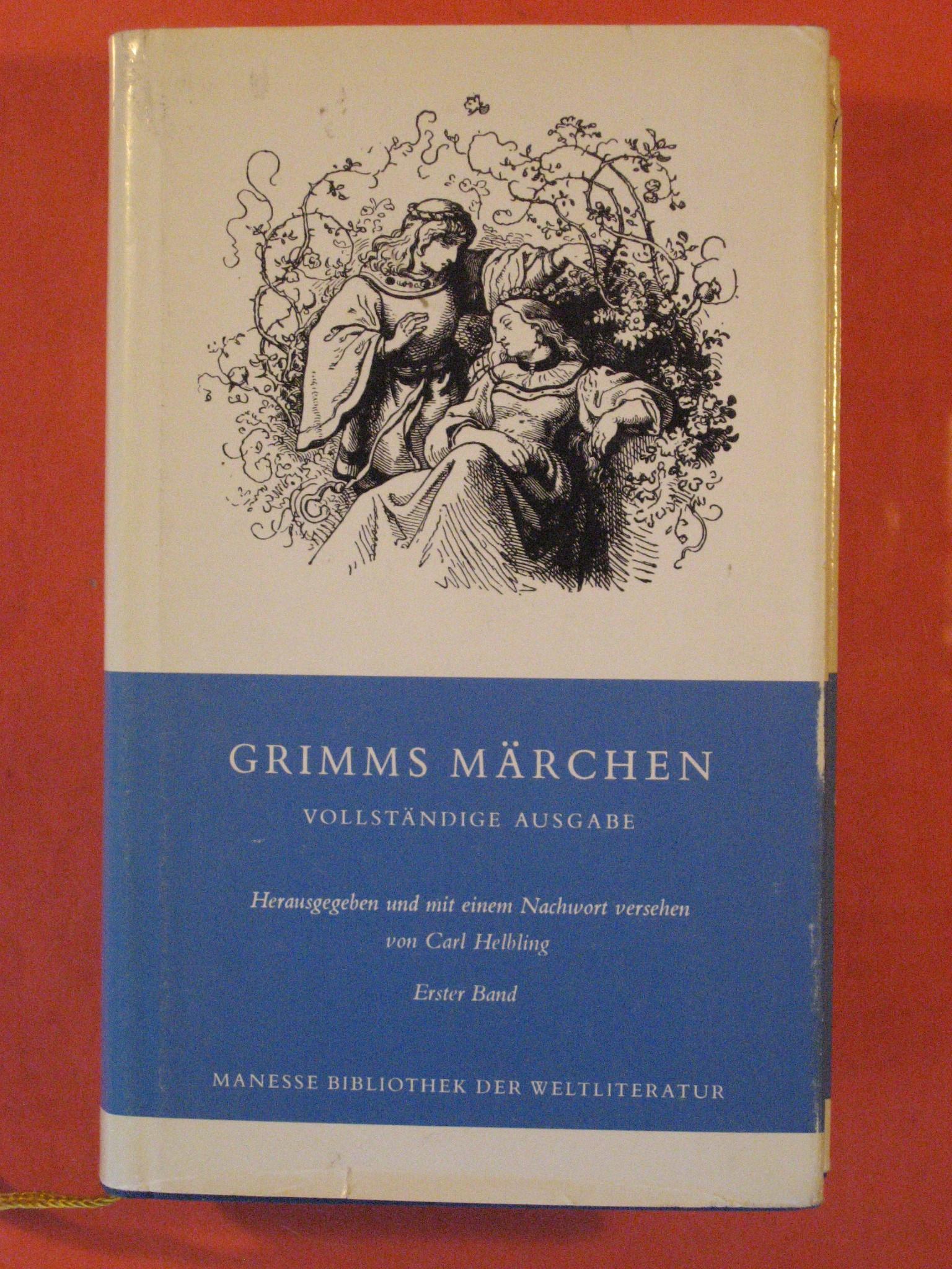 Grimms Marchen Vollstandige Ausgabe, Vol 1, Bruder Grimm (Wilhelm & Jakob)