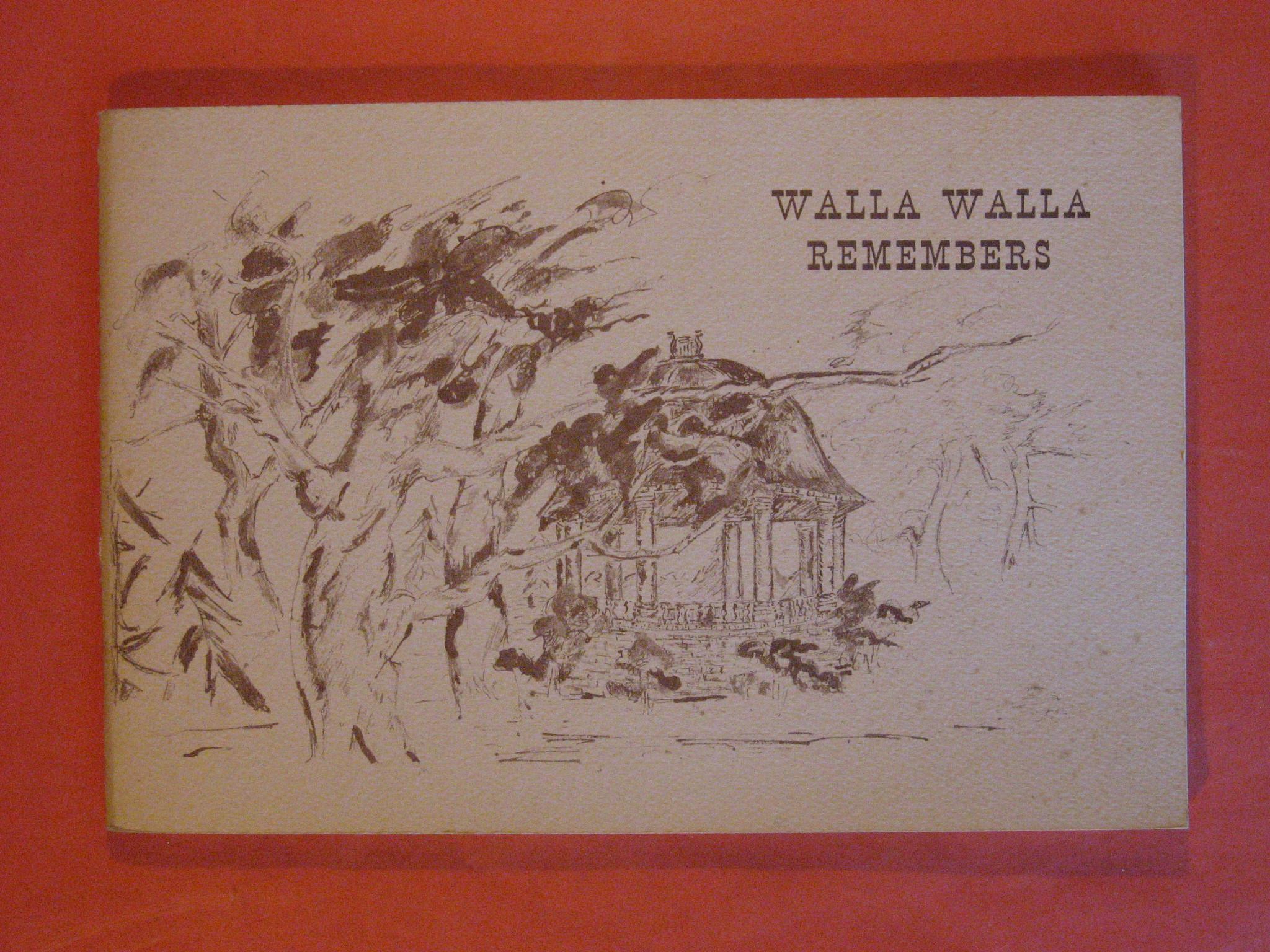 Walla Walla Remembers, Mitchell, Claire