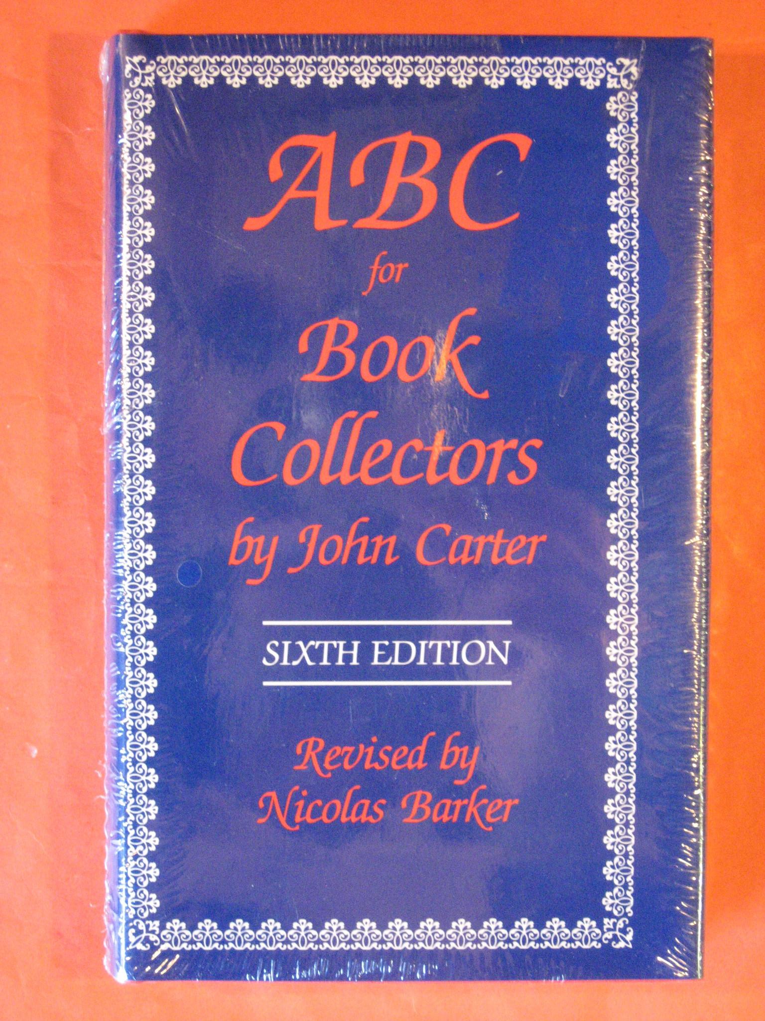 ABC for Book Collectors, Carter, John