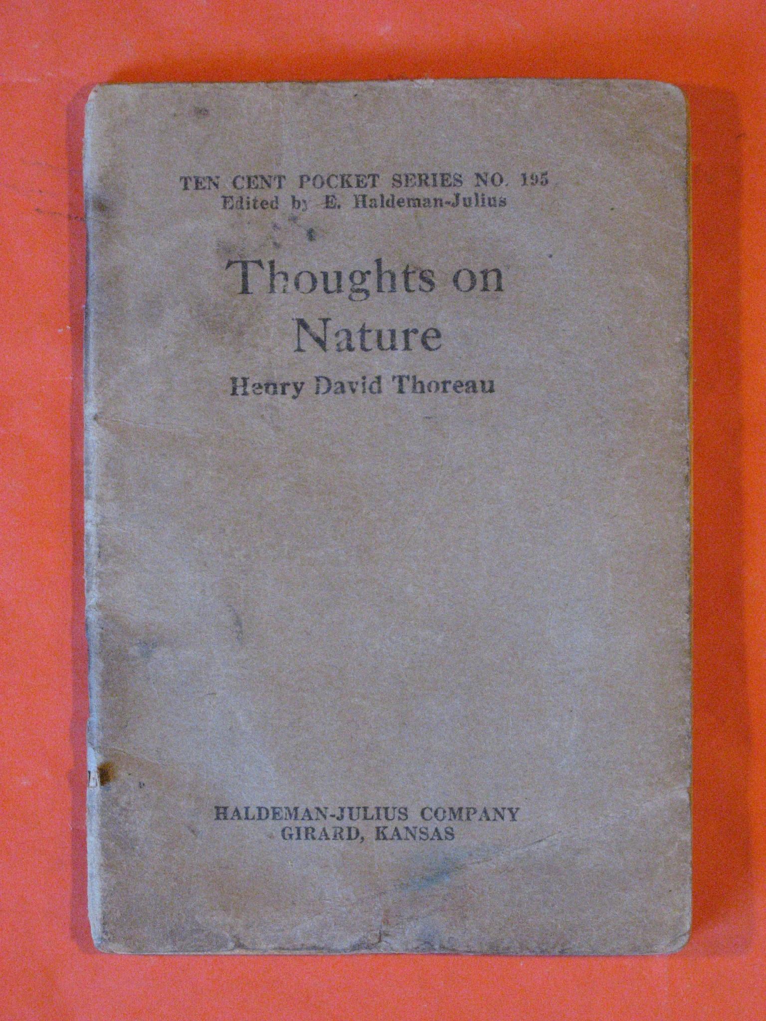 Thoughts on Nature, Thoreau, Henry David