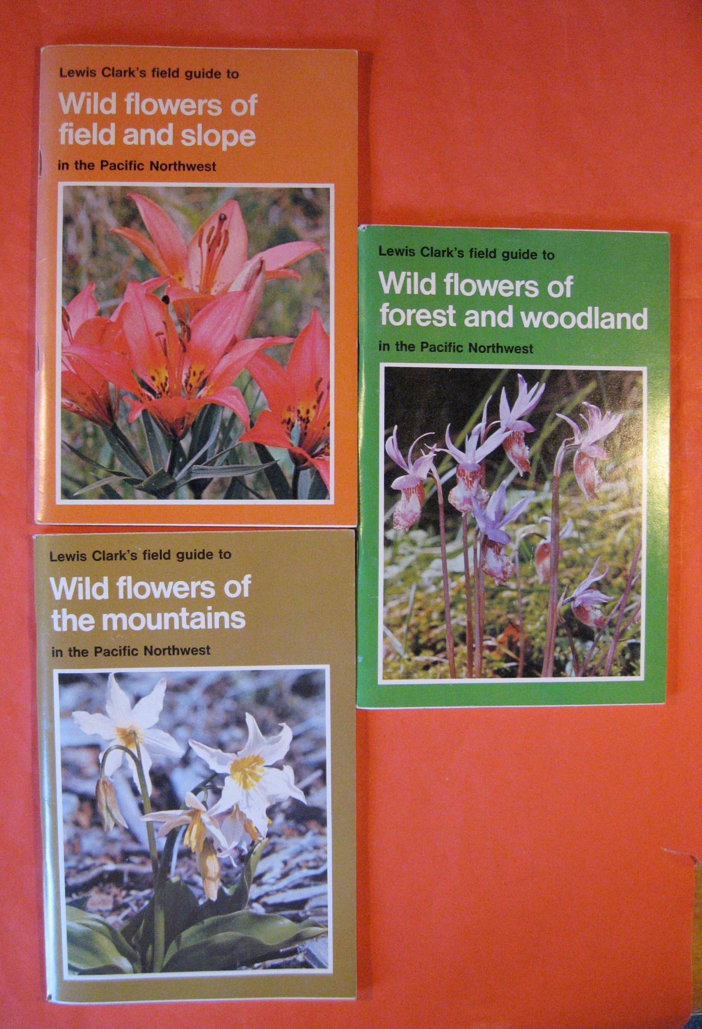Three Northwest Flower Guidebooks