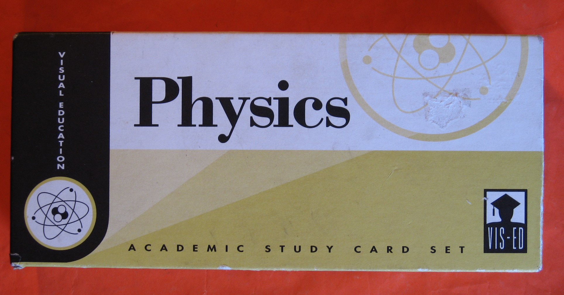 Physics Academic Study Card Set, Vis-Ed (Visual Education)