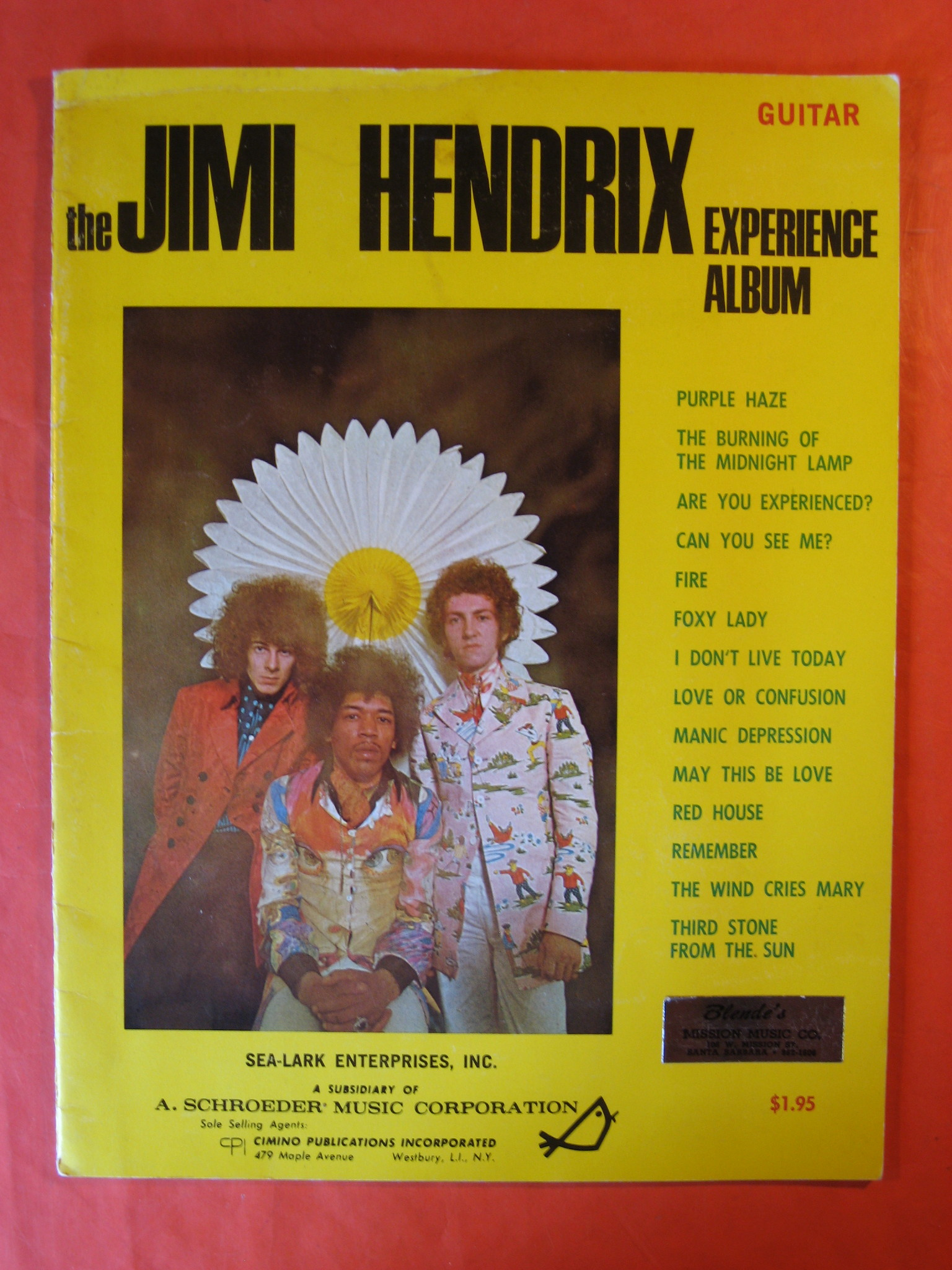 The Jimi Hendrix Experience Album (Guitar), Hendrix, Jimi