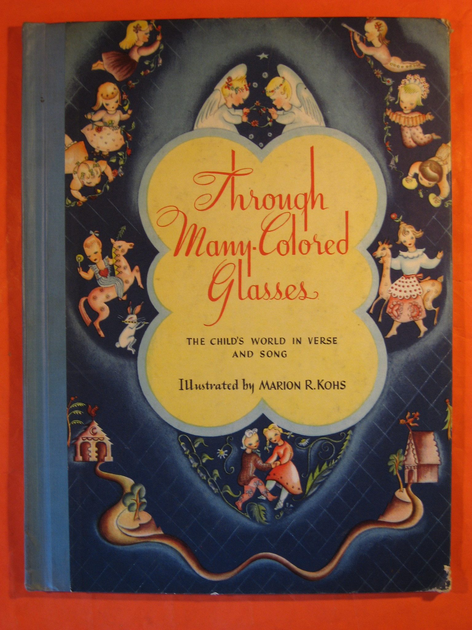 Through Many-Colored Glasses:  The Child's World in Verse and Song, Kohs, Marion R.