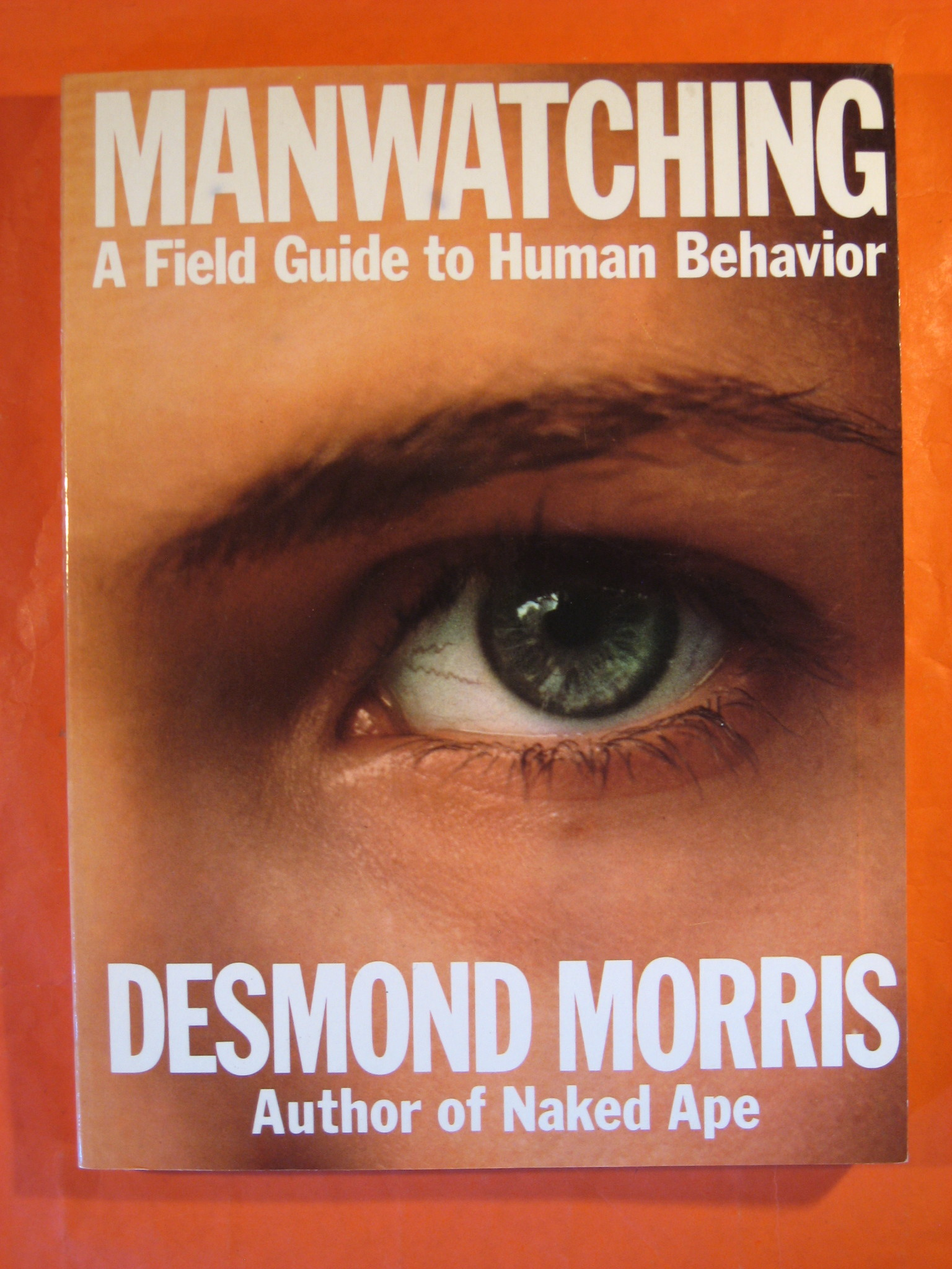 Manwatching: A Field Guide to Human Behavior, Morris, Desmond
