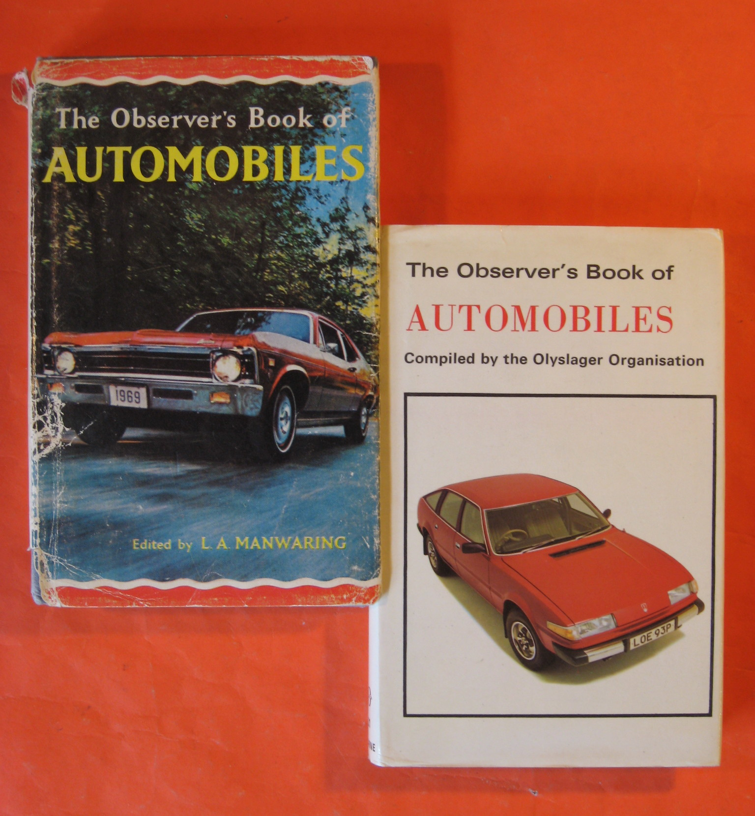 Two Observer's Book of Automobiles