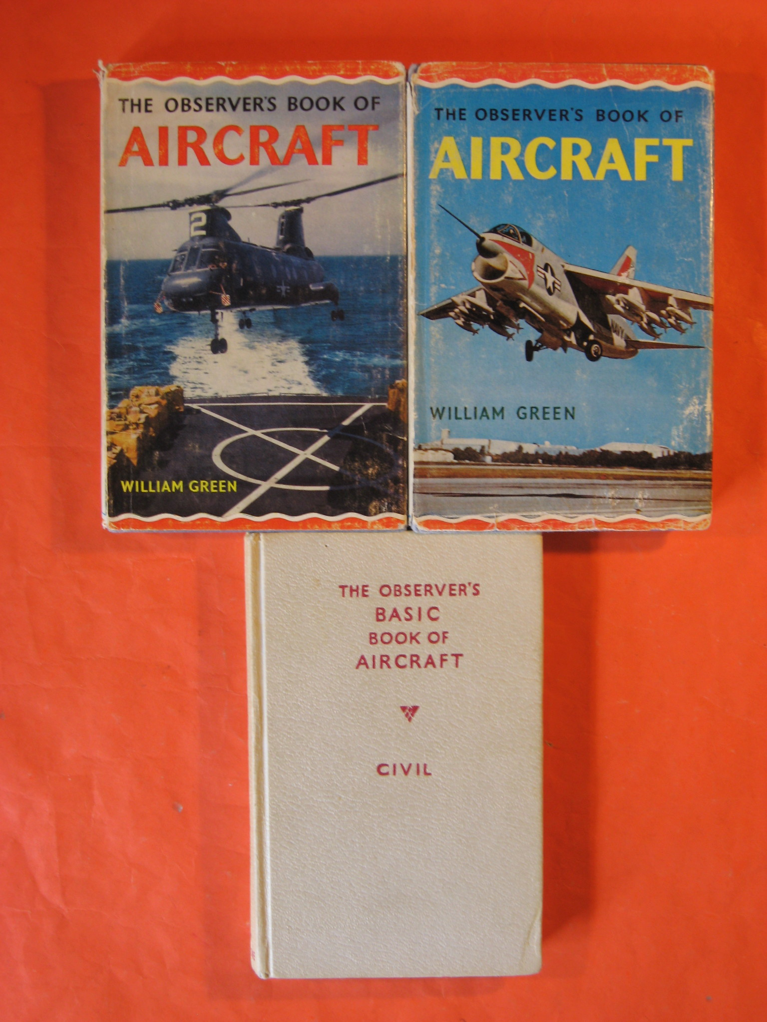 Three Observer's Book of Aircraft