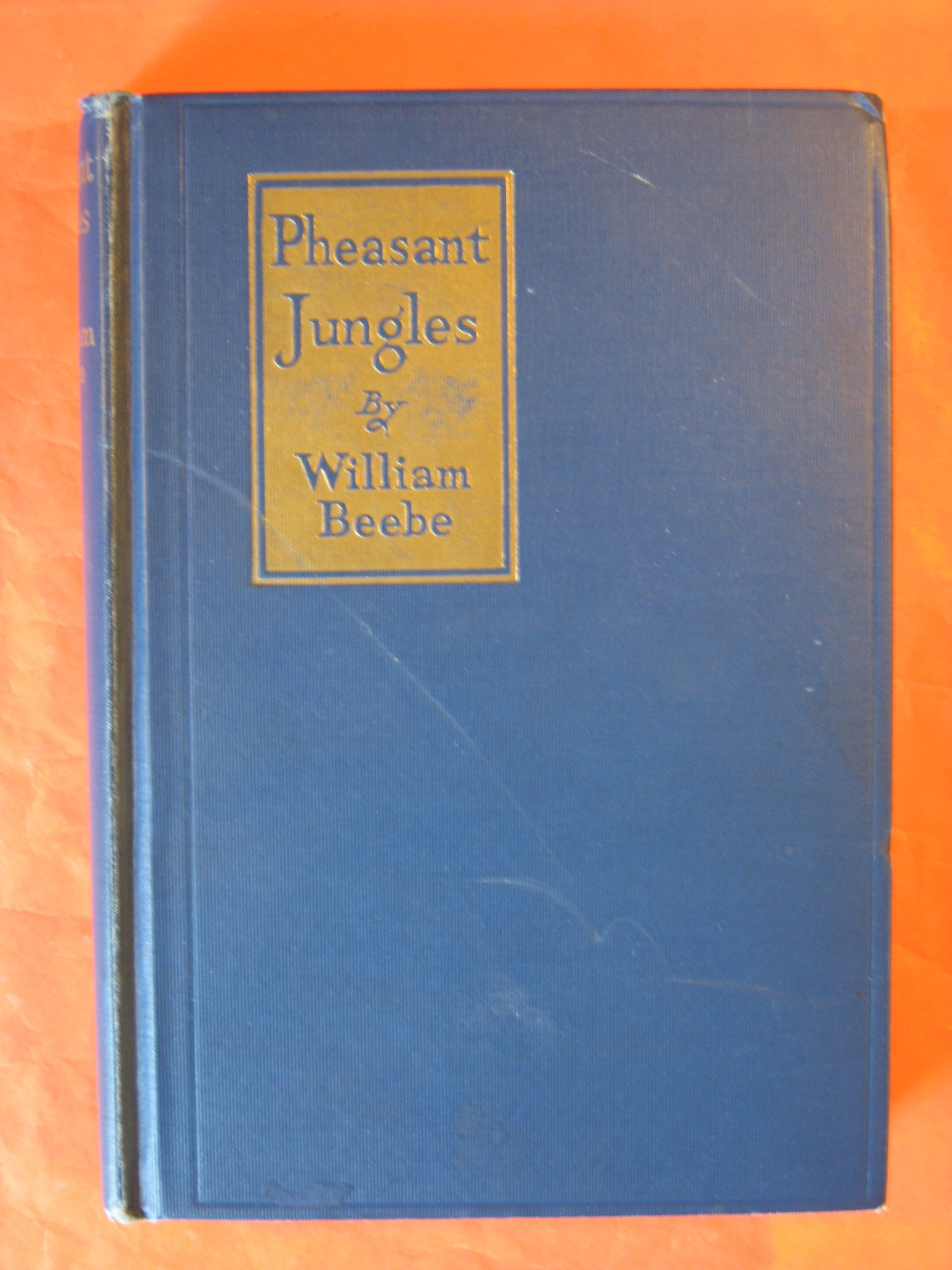 Pheasant Jungles, Beebe, William