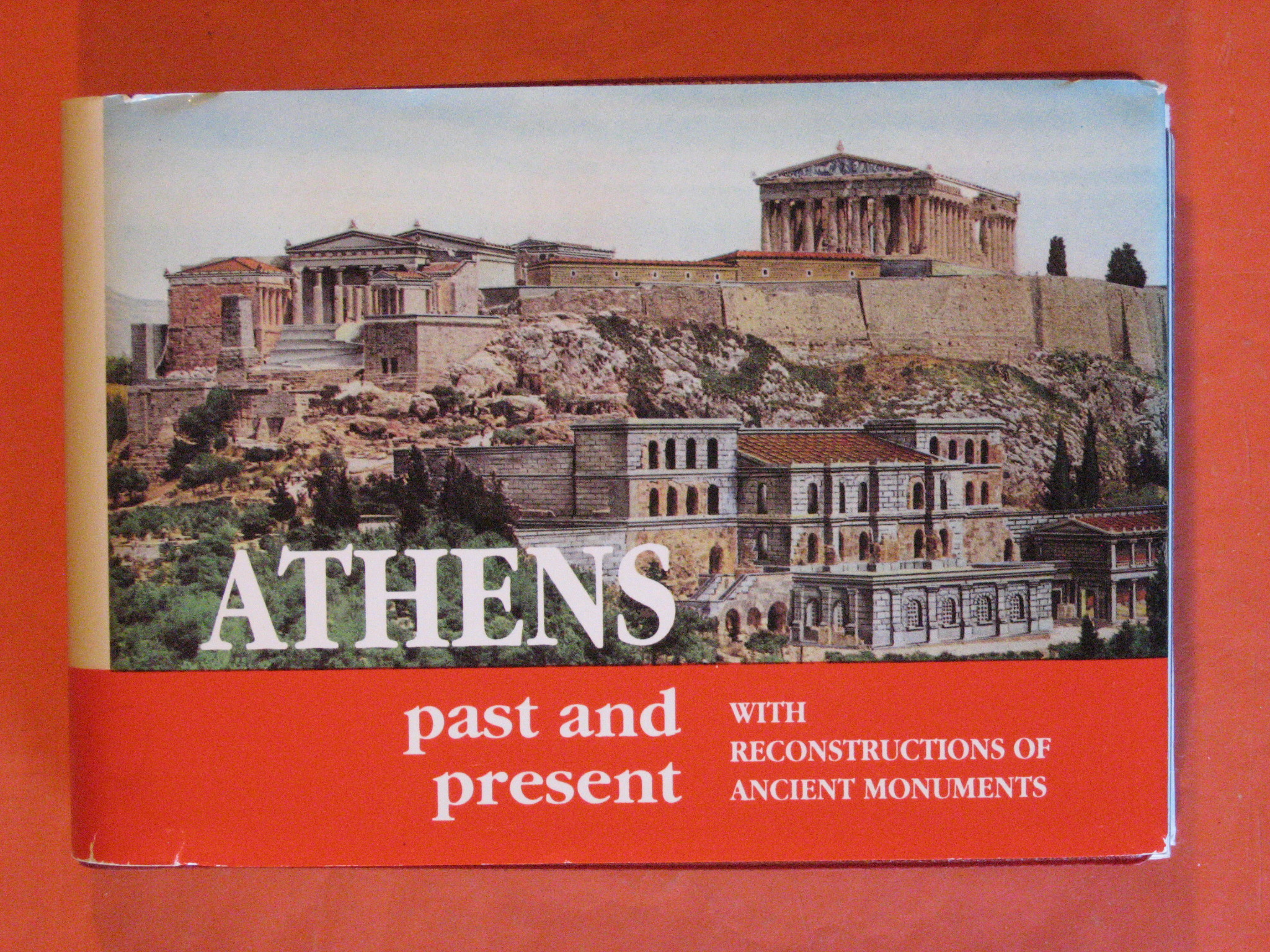 Athens Past and Present with Reconstructions of Ancient Monuments, Panaiotou, Niki Drossou