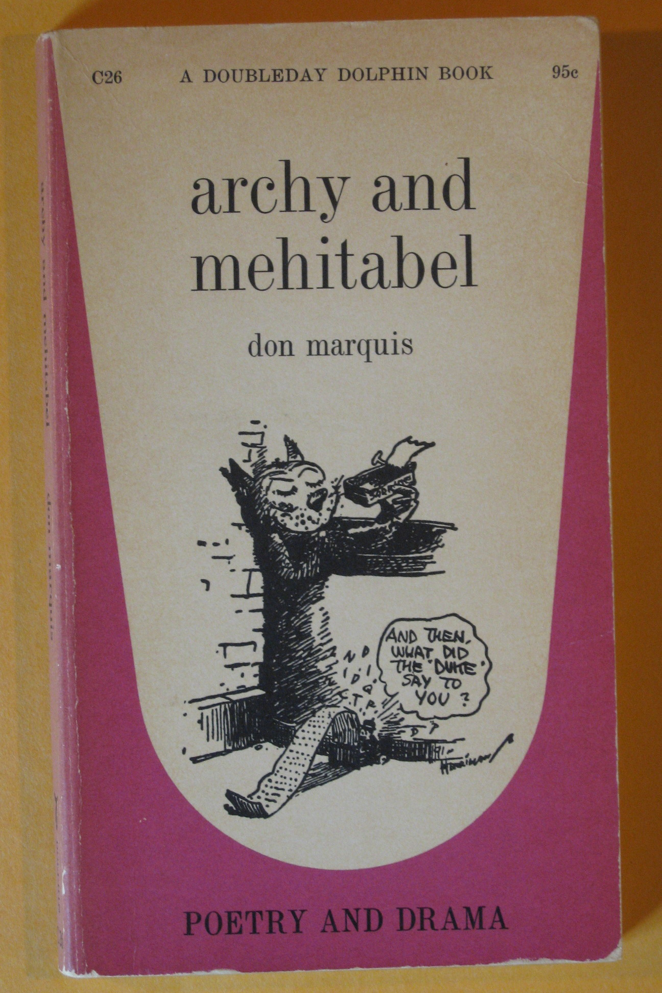 Archy and Mehitabel, Marquis, Don