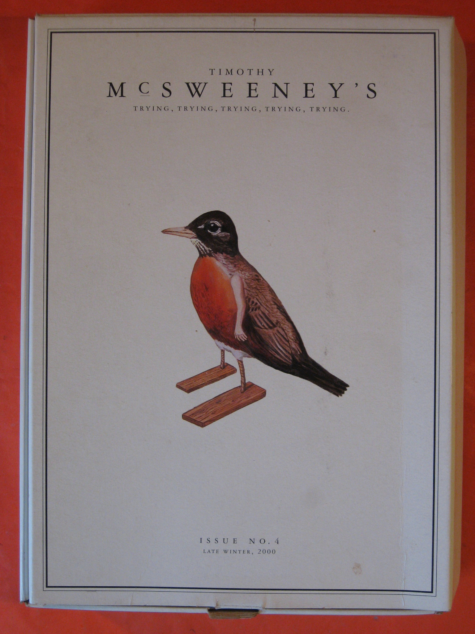 McSweeney's Issue #4  Trying, Eggers, Dave (ed.)
