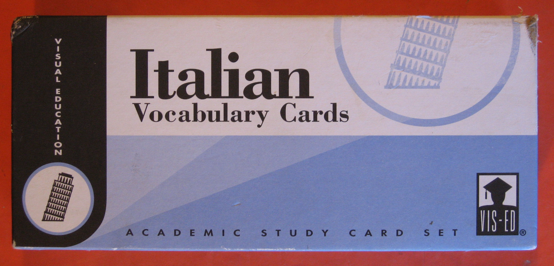 Italian  Vocabulary Cards