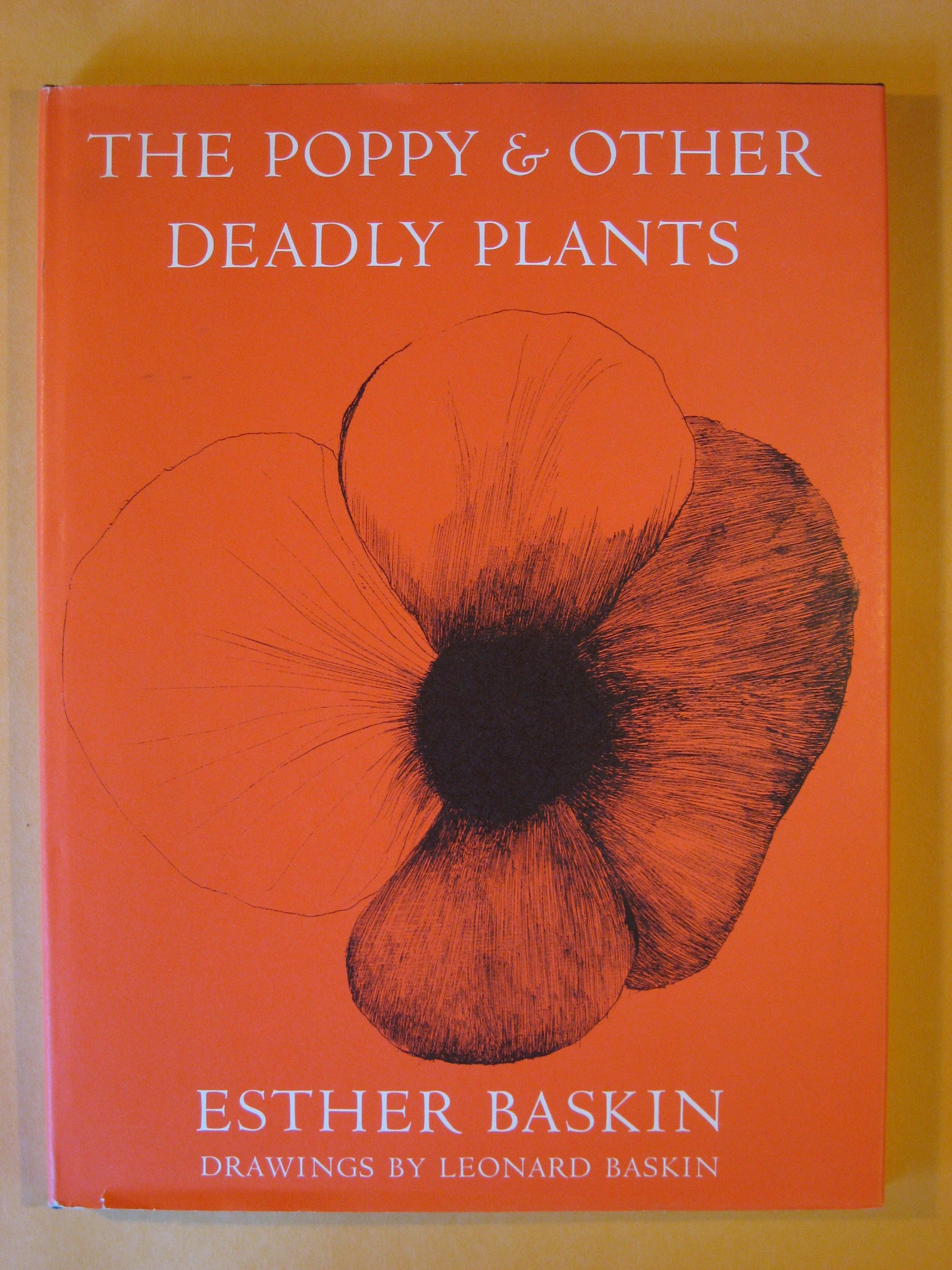 The Poppy and Other Deadly Plants, Baskin, Esther