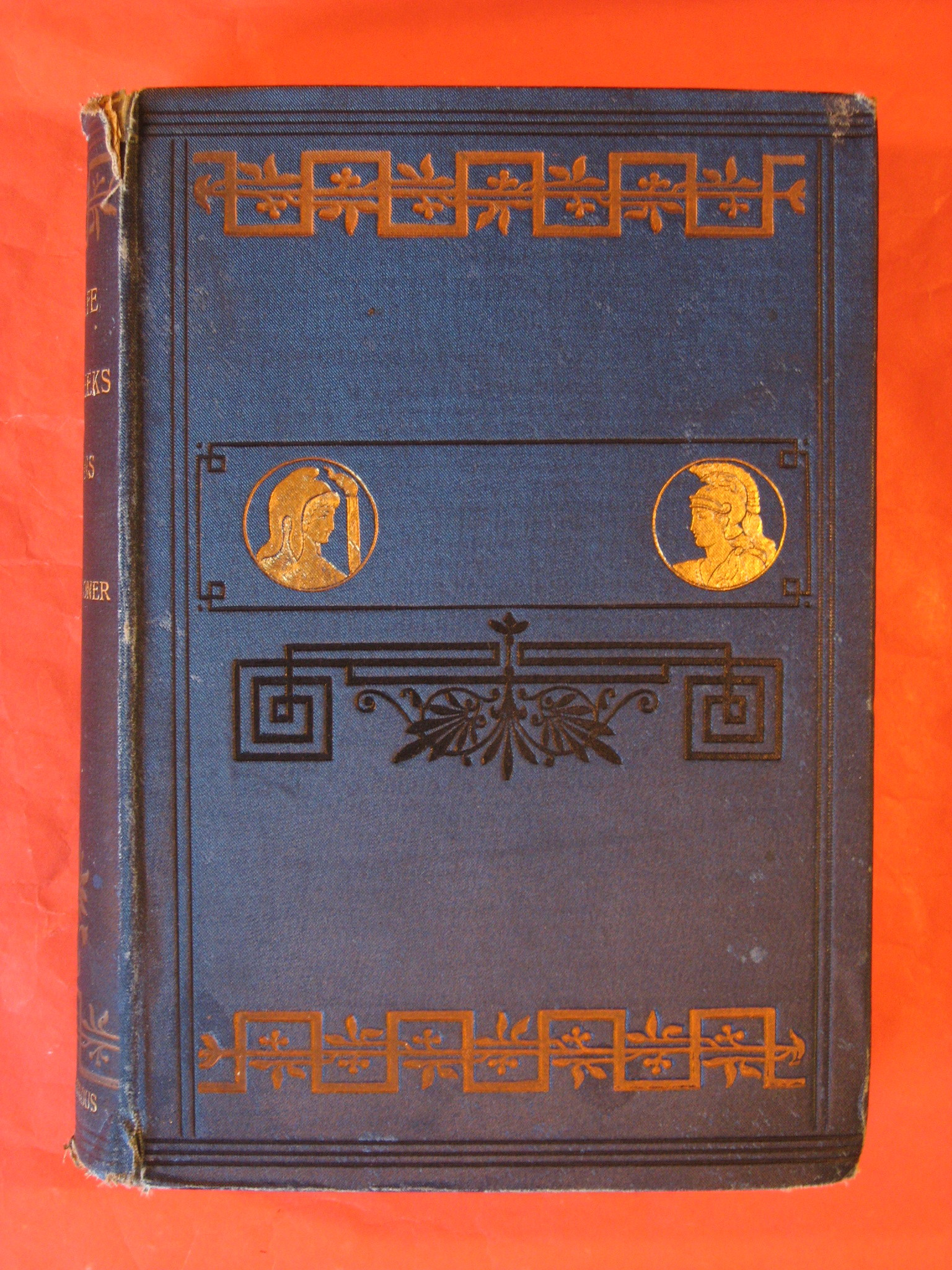 The Life of The Greeks and Romans Described from Antique Monuments, Guhl, E.; Koner, W.