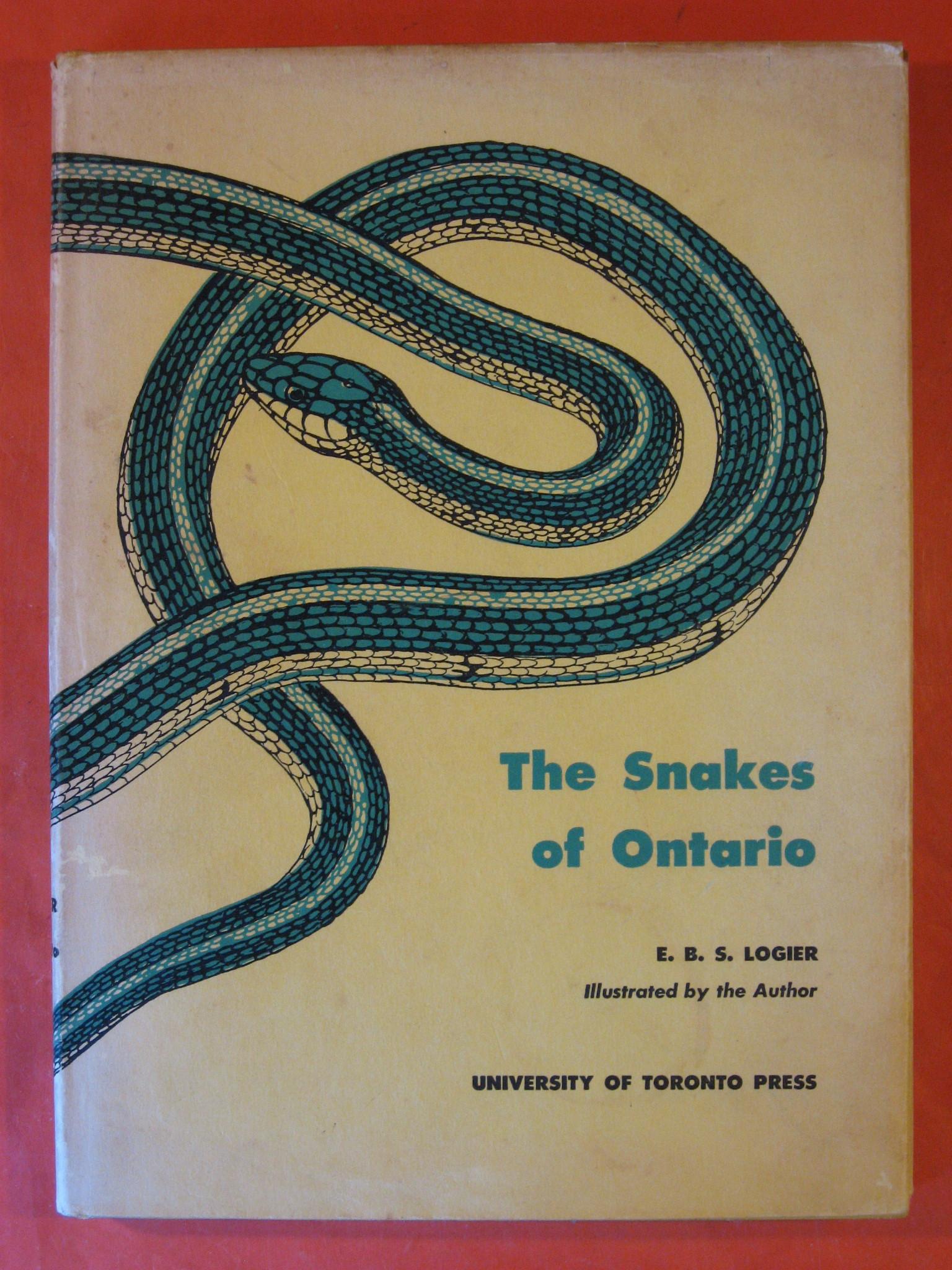 Snakes of Ontario, the, Logier, E.B.S.