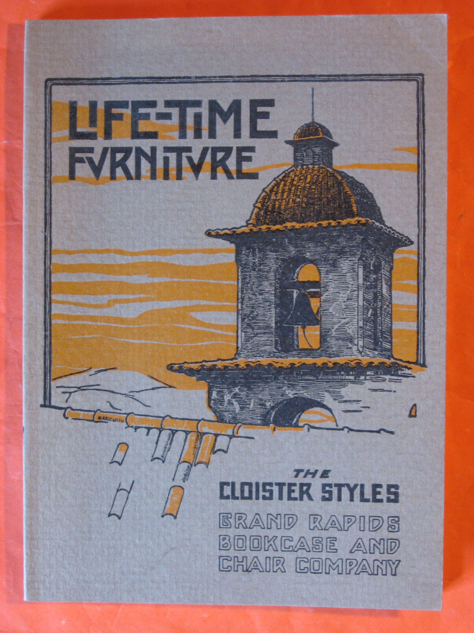 Life-Time Furniture, The Cloister Styles, Grand Rapids Bookcase and Chair Company