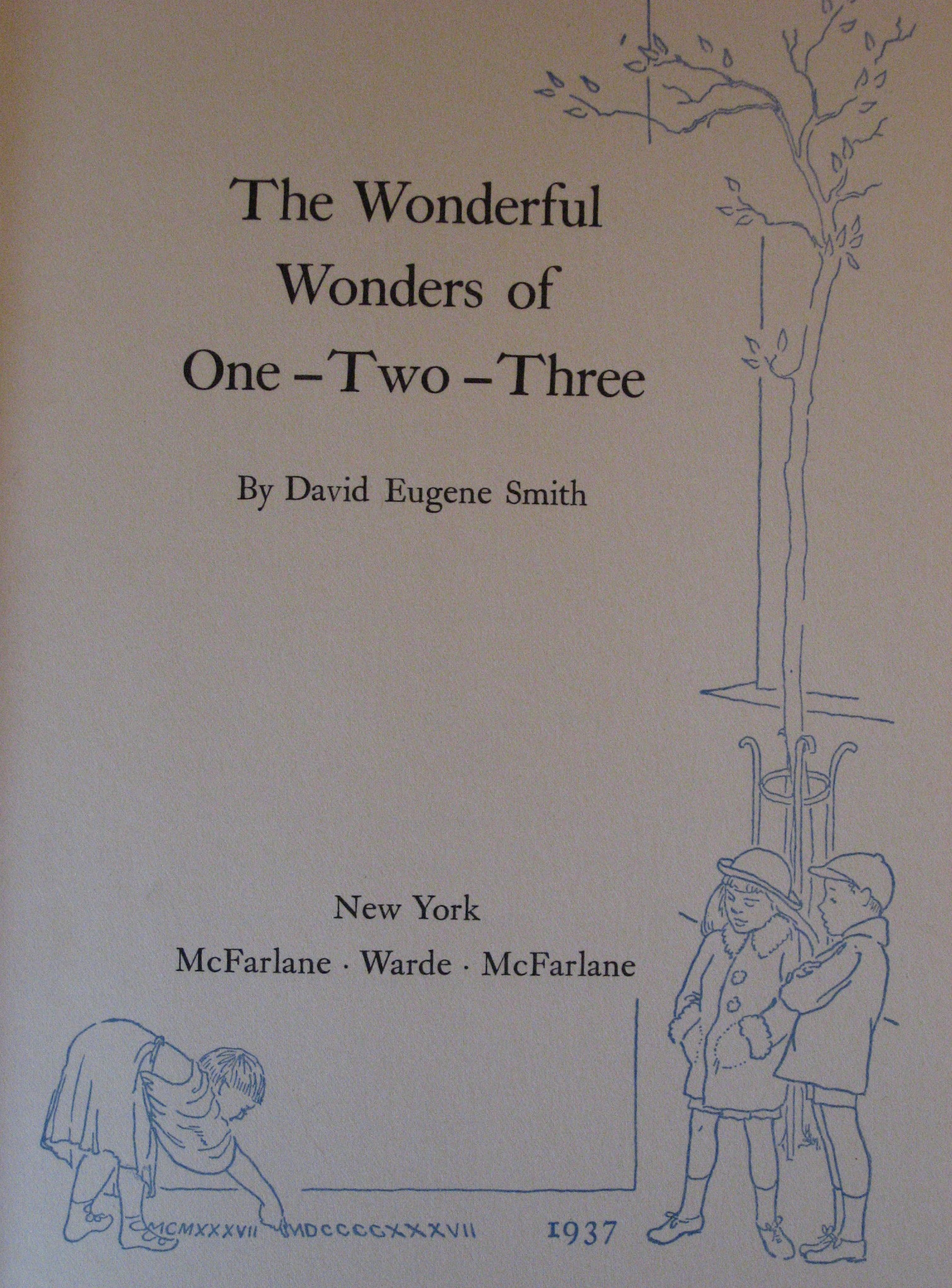 The Wonderful Wonders of One-Two-Three, Smith, David Eugene