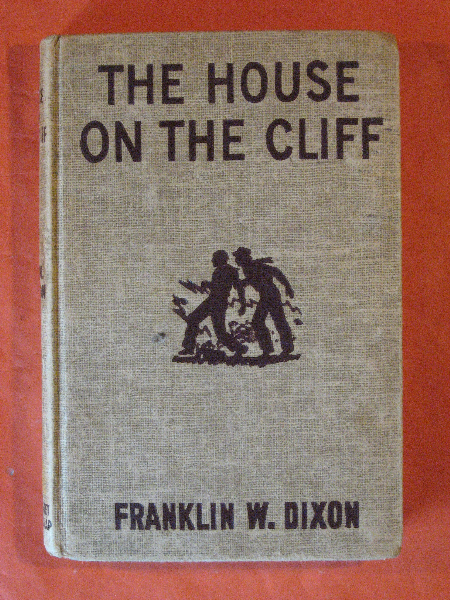 The House on the Cliff  (Hardy Boys Mystery Stories), Dixon, Franklin W.