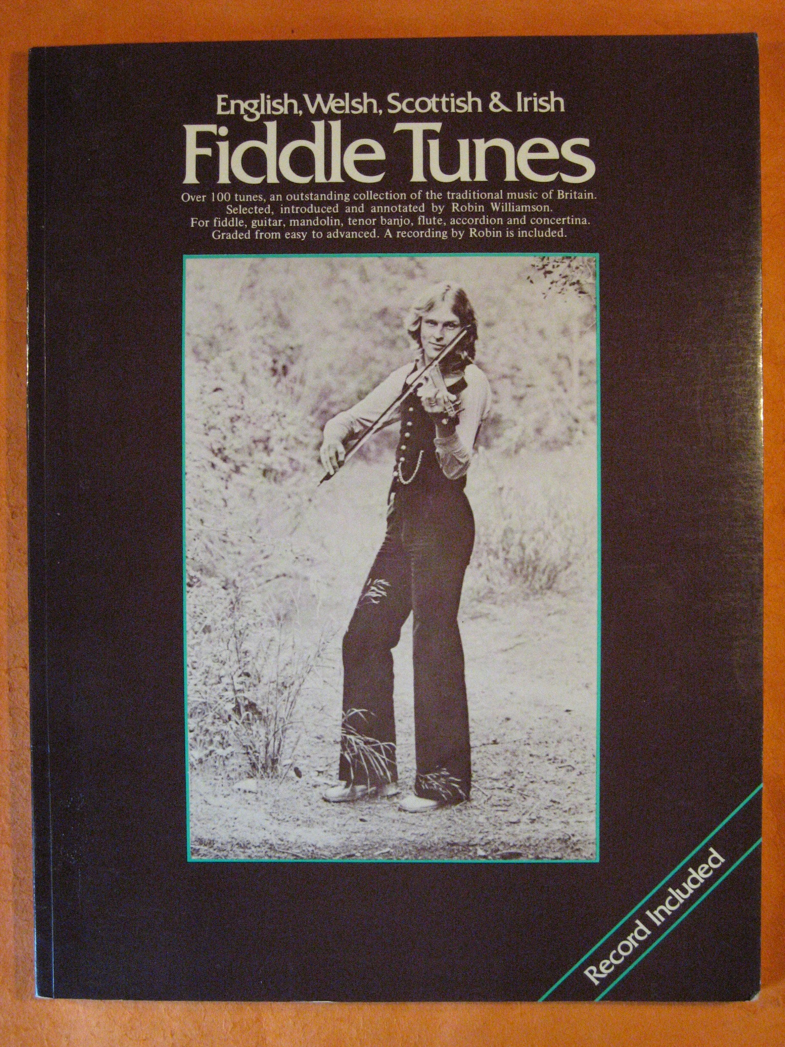 English, Welsh, Scottish & Irish Fiddle Tunes, Williamson, Robin