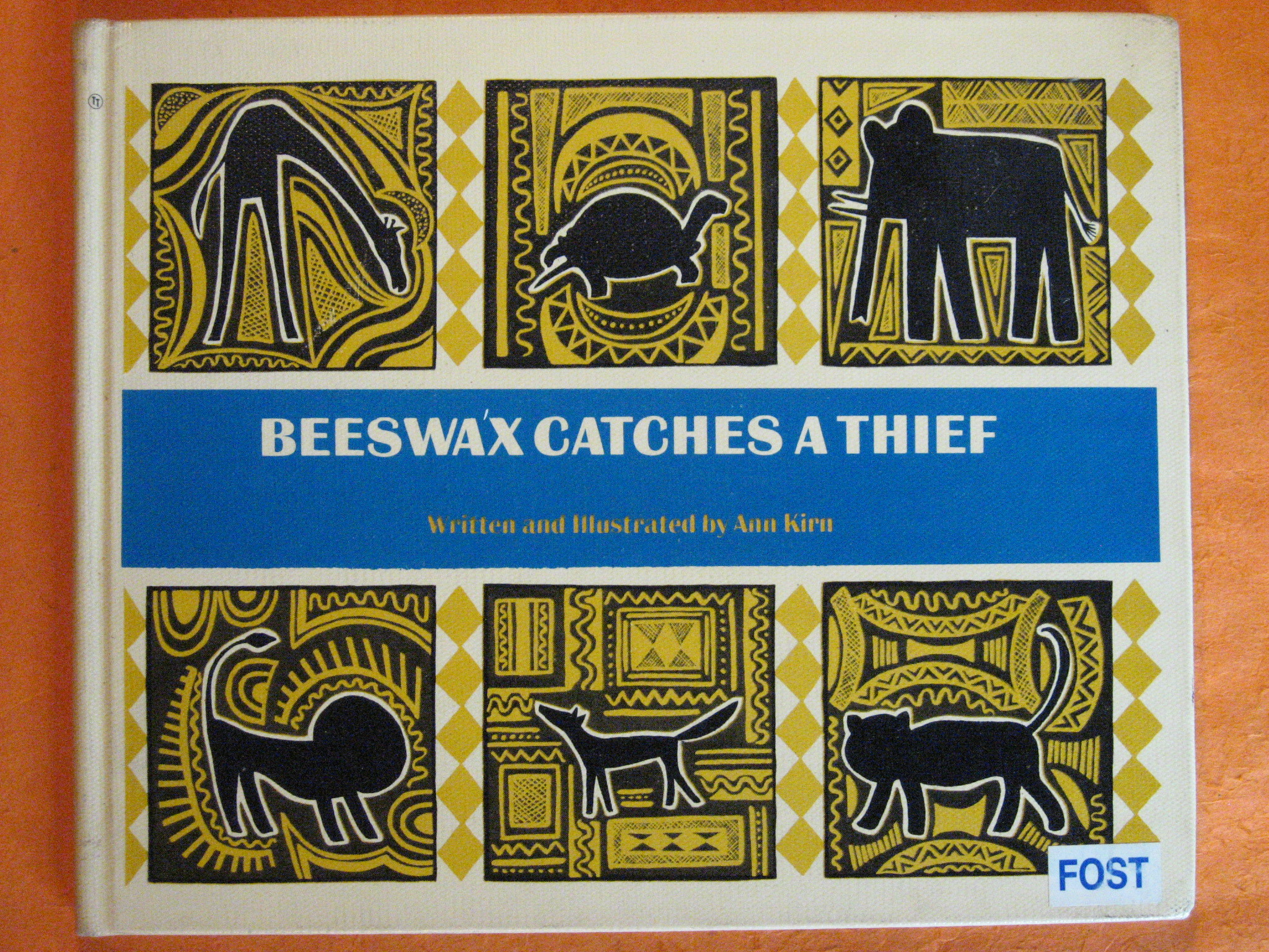 Beeswax Catches a Thief: From a Congo Folktale, Kirn, Ann