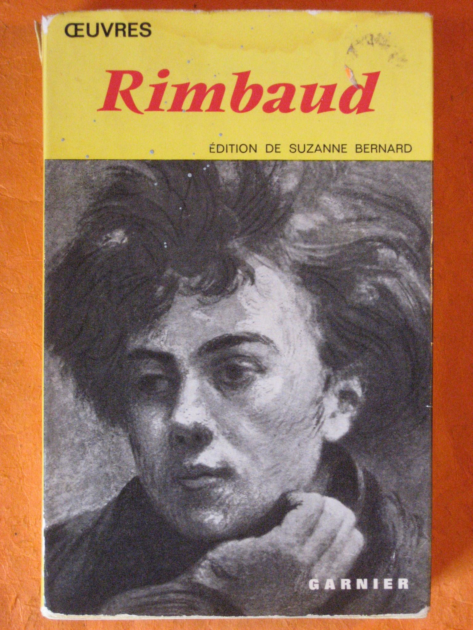 Rimbaud:  Oeuvres, Rimbaud, Arthur; Bernard, Suzanne
