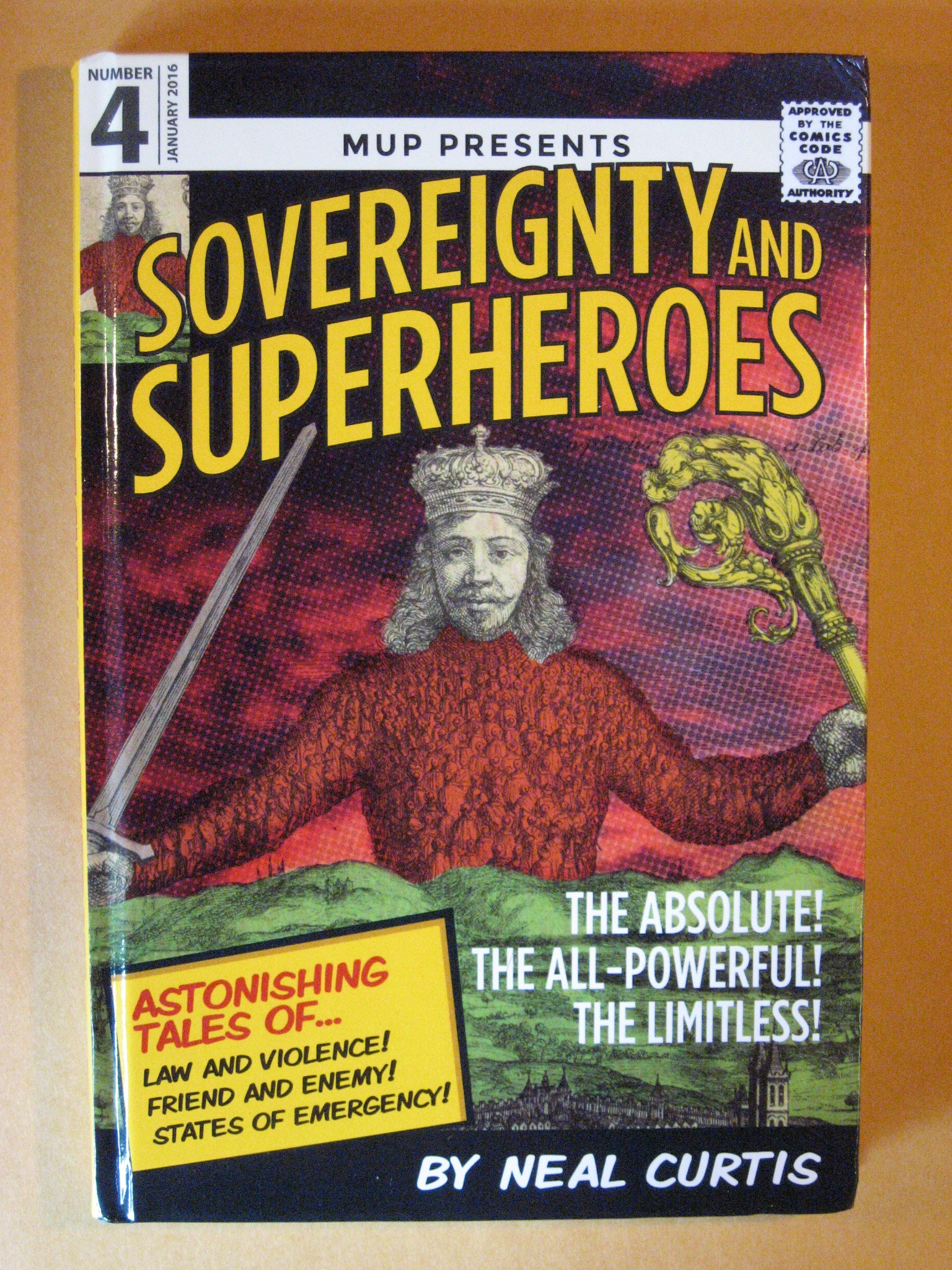 Sovereignty and Superheroes, Curtis, Neal