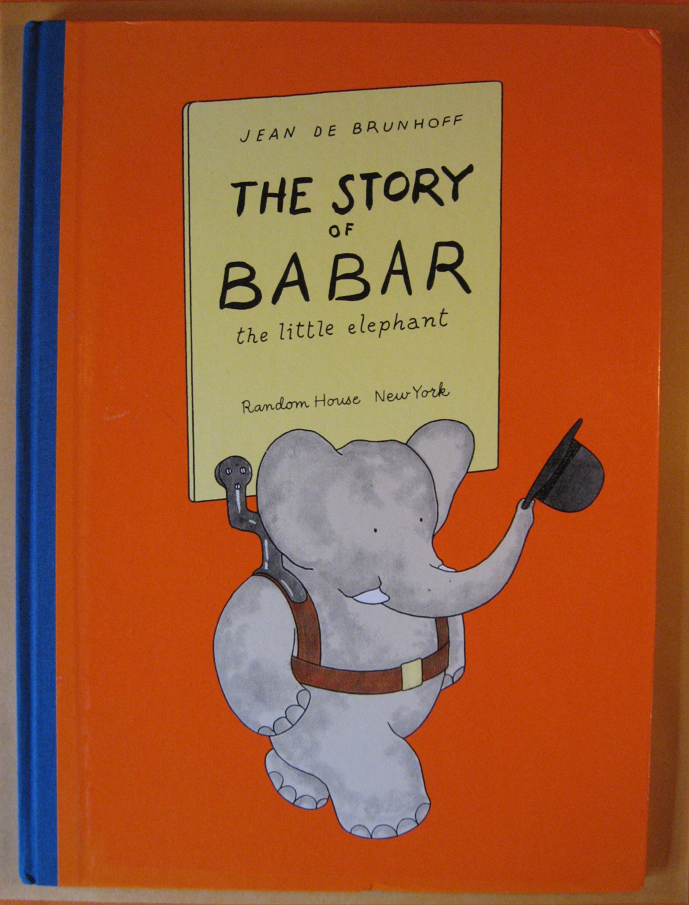 The Story of Babar the Little Elephant, de Brunhoff, Jean