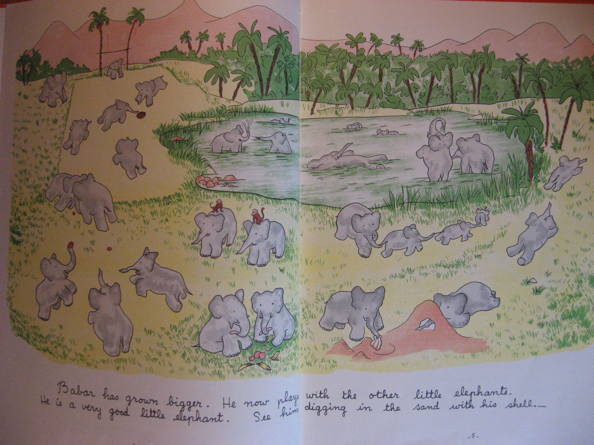 Image for Story of Babar the Little Elephant, The
