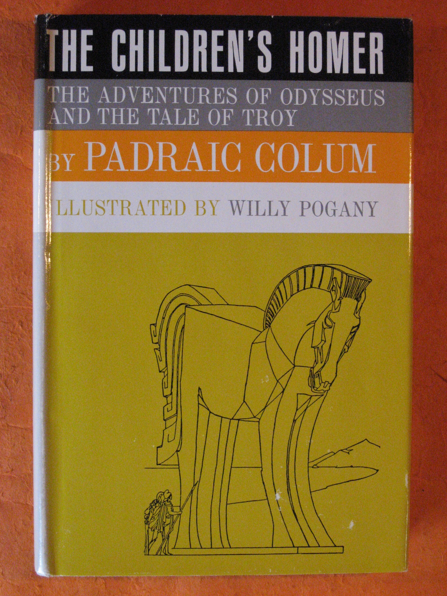 The Children's Homer:  The Adventures of Odysseus and the Tale of Troy, Colum, Padraic