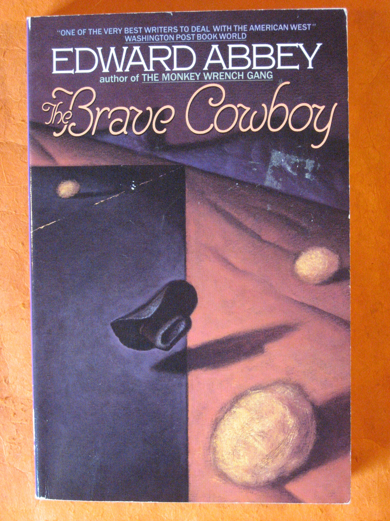The Brave Cowboy, Abbey, Edward