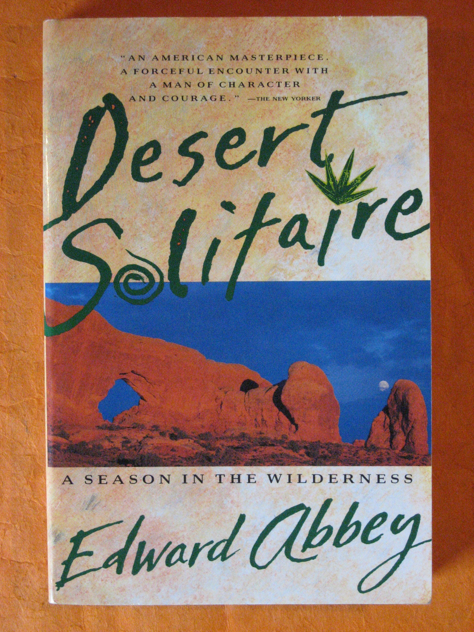 Desert Solitaire, Abbey, Edward