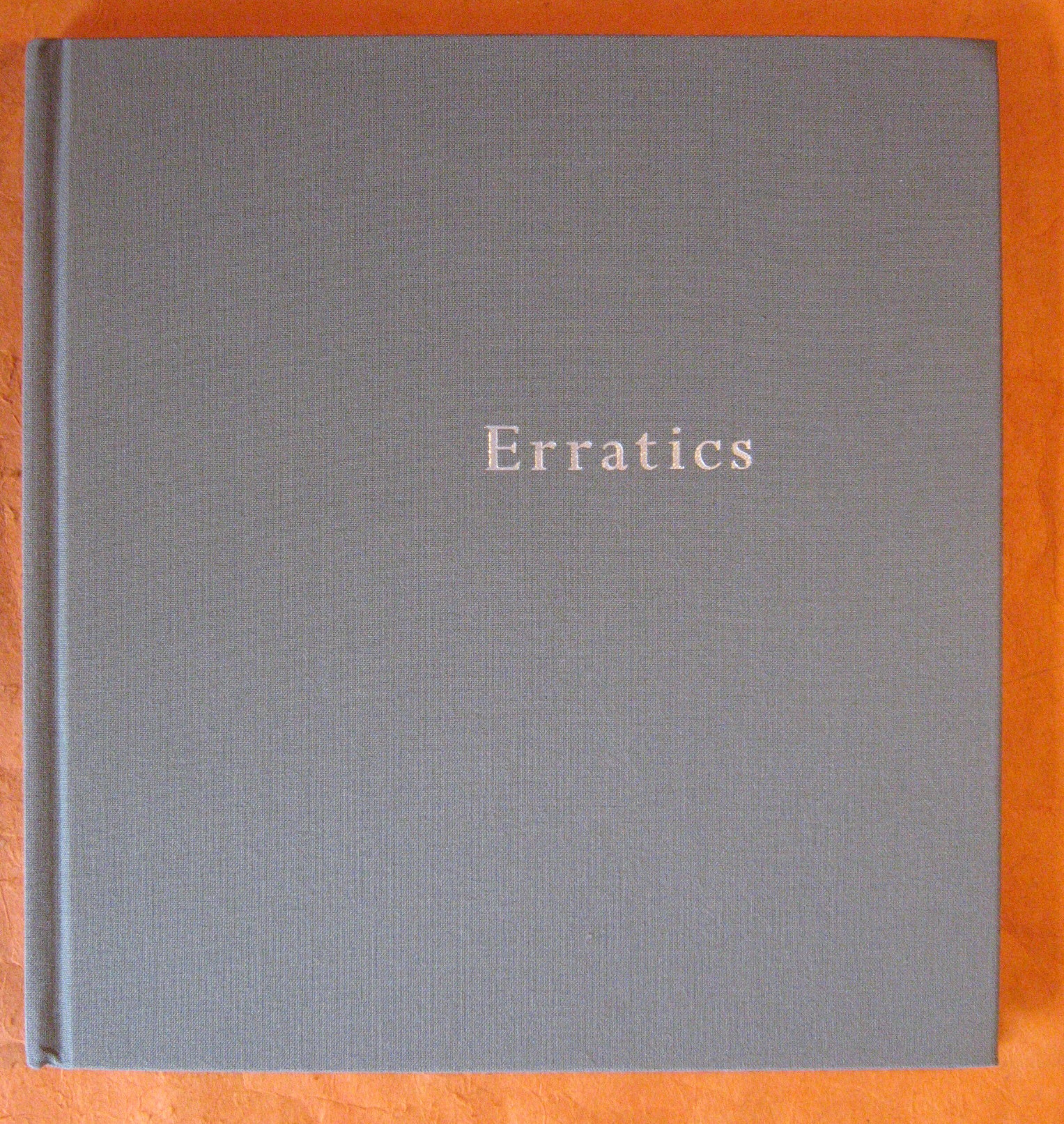 Image for Erratics