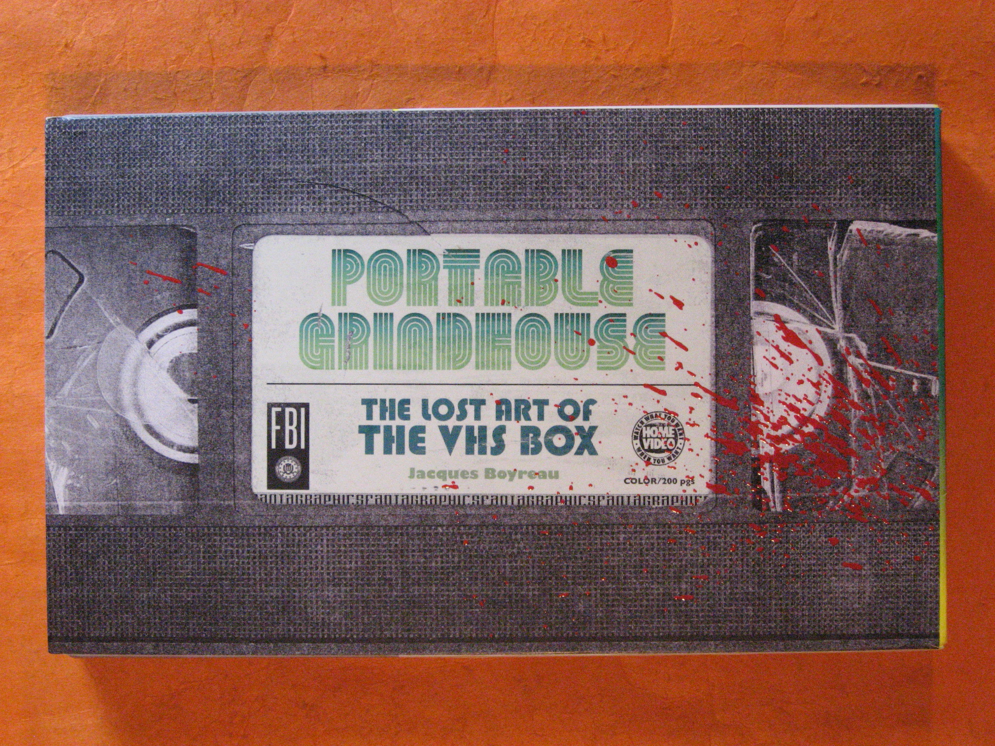 Portable Grindhouse: The Lost Art of the VHS Box,
