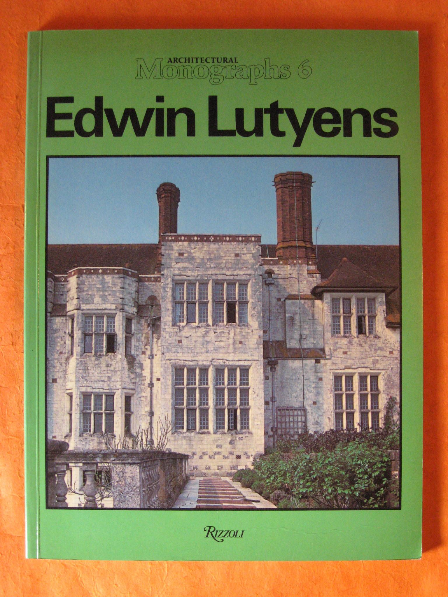 Edwin Lutyens (Architectural Monographs No 6), Lutyens, Edwin