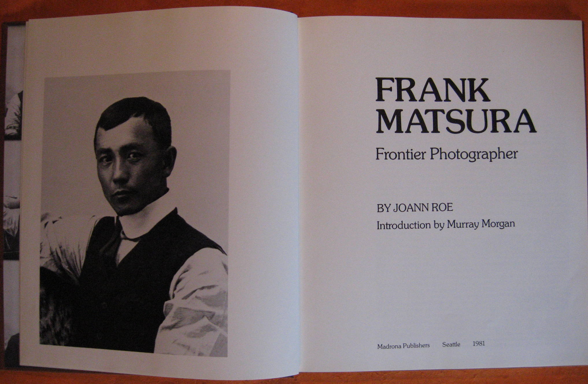 Frank Matsura : Frontier Photographer, Roe, JoAnn