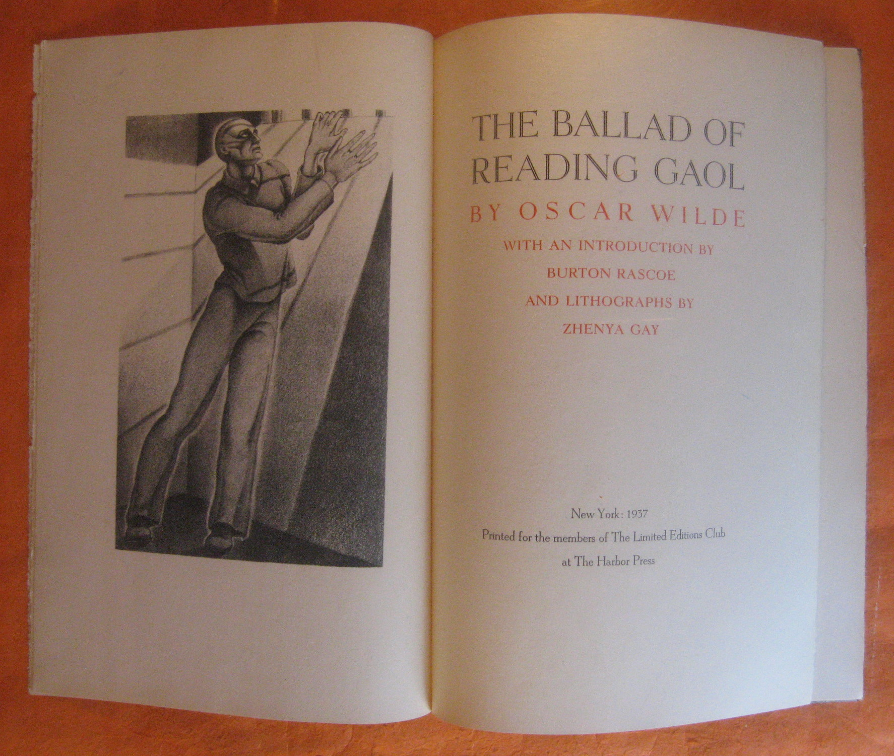 The Ballad of Reading Gaol, Wilde, Oscar; Rascoe, Burton (intro.)
