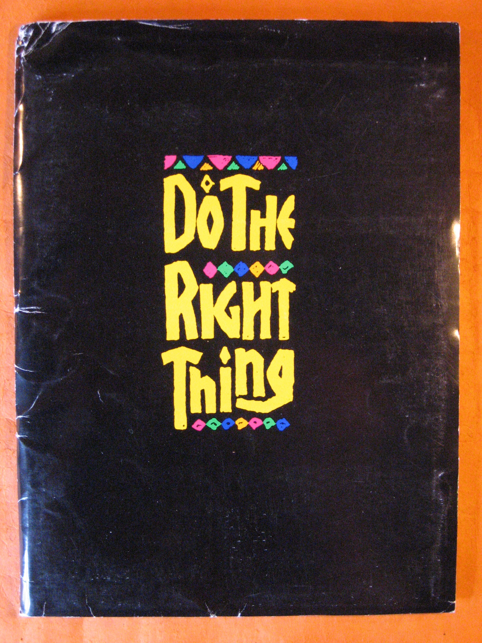 Do the Right Thing (Press Packet), Lee, Spike